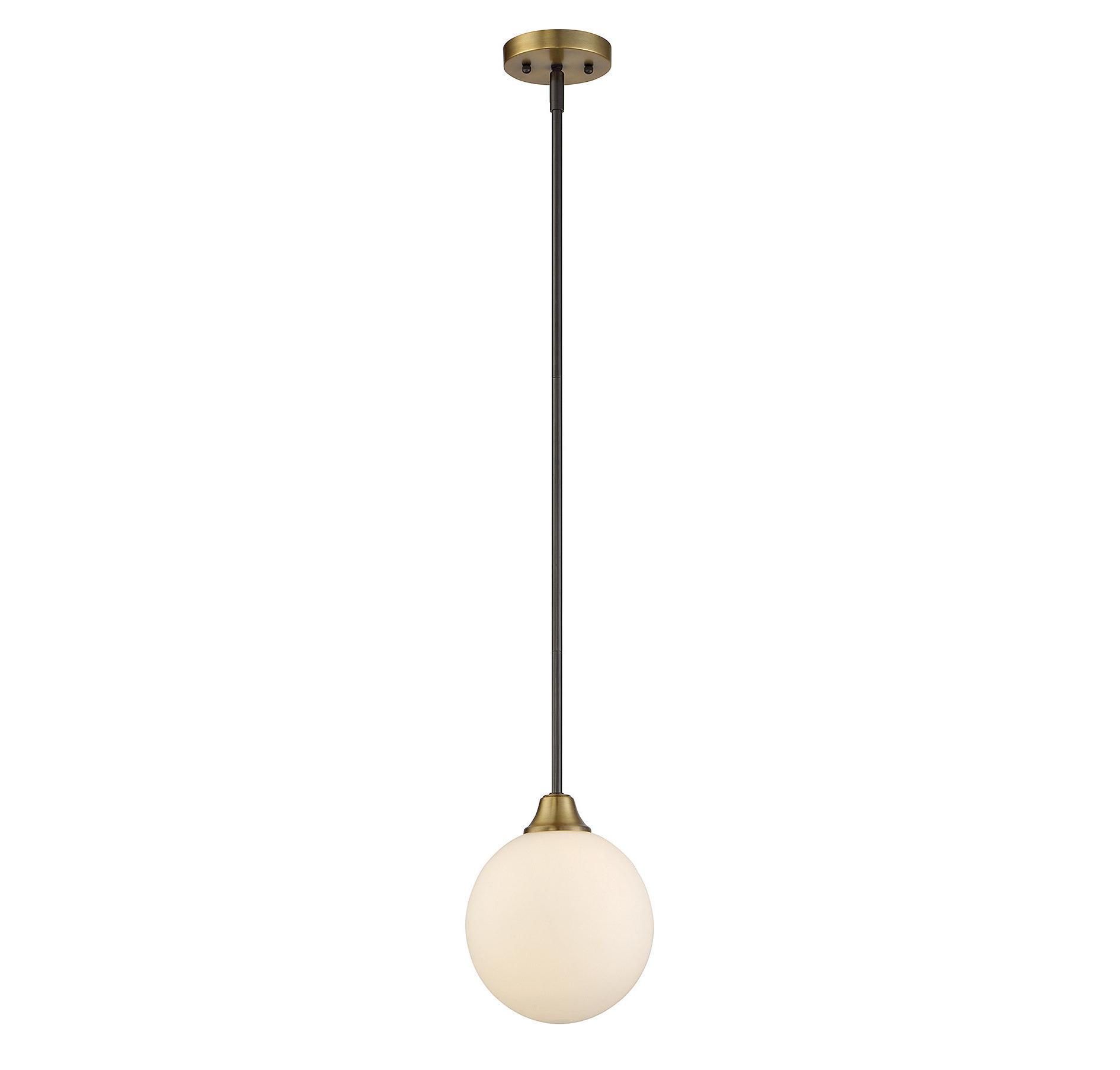 Fashionable Bautista 1 Light Single Globe Pendant Intended For Bautista 6 Light Kitchen Island Bulb Pendants (View 9 of 20)