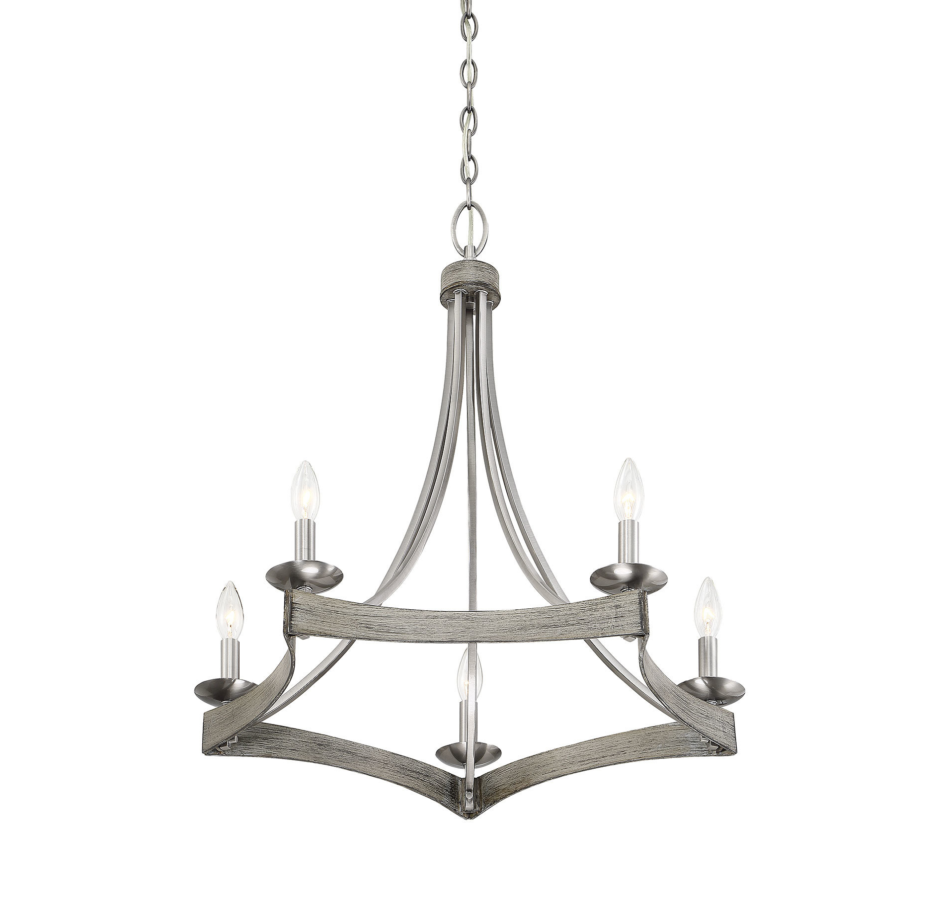 Fashionable Berger 5 Light Candle Style Chandeliers Regarding Unger 5 Light Candle Style Chandelier (Gallery 3 of 20)