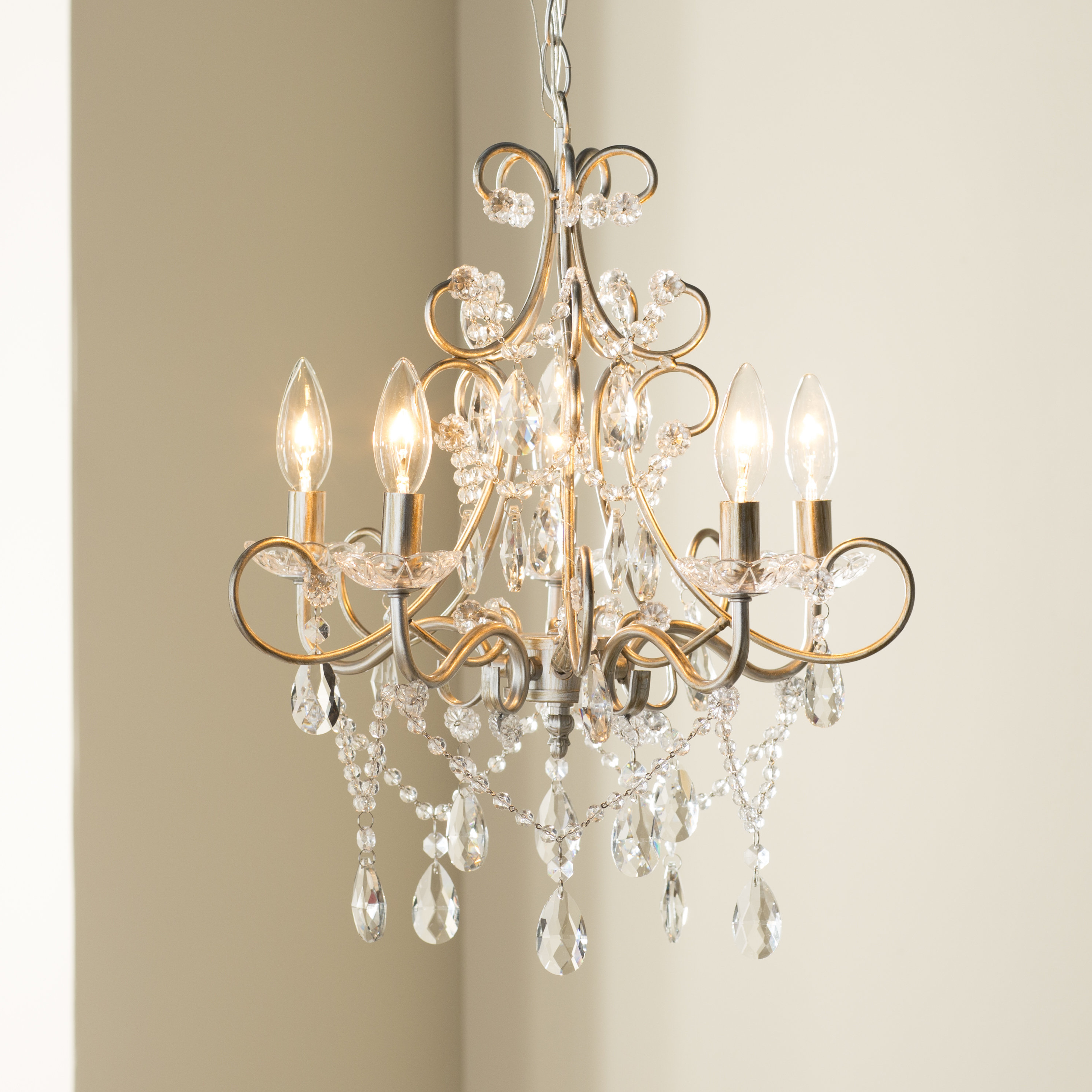 Fashionable Blanchette 5 Light Candle Style Chandeliers Within Blanchette 5 Light Candle Style Chandelier (View 11 of 20)