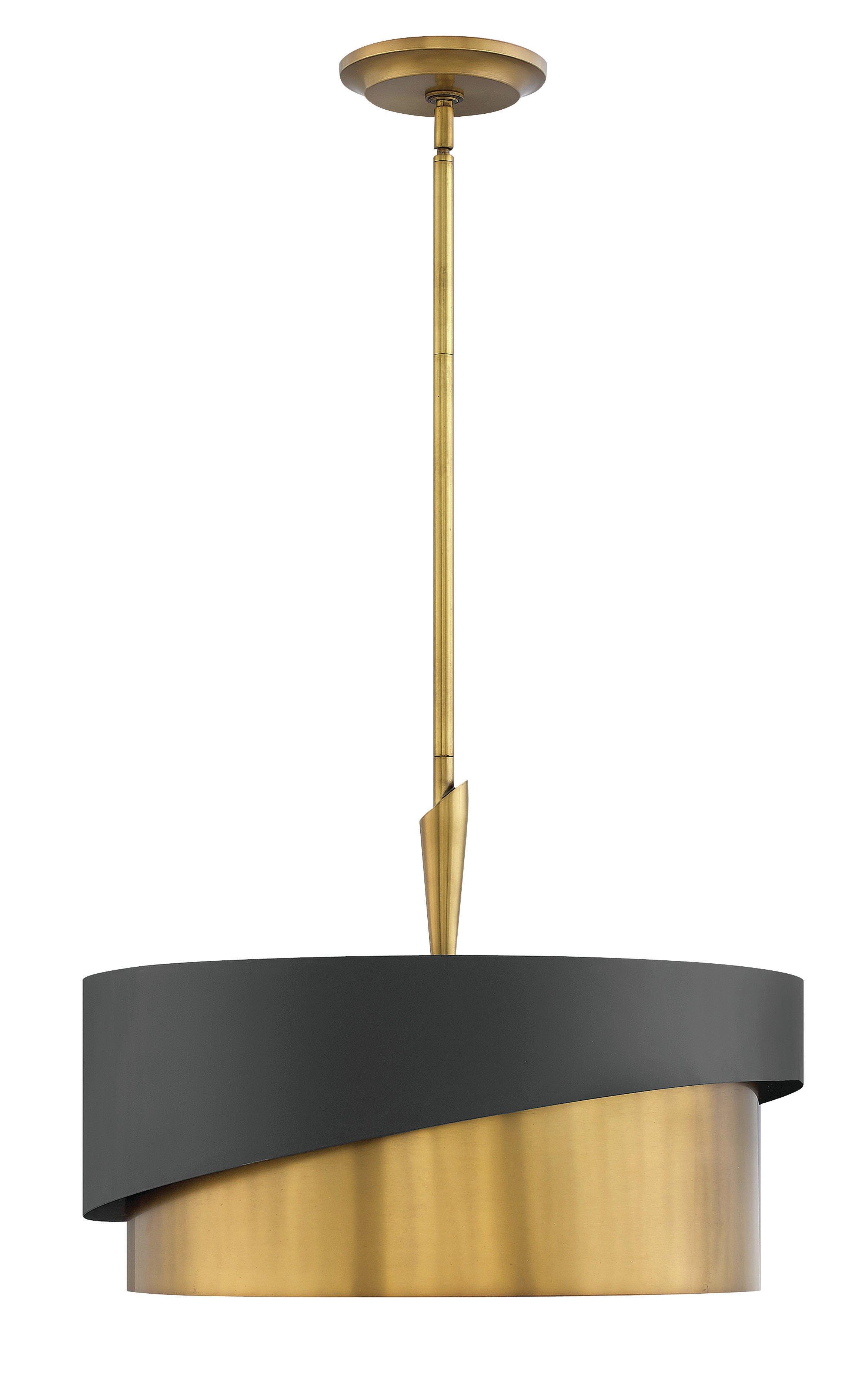 Fashionable Breithaup 7 Light Drum Chandeliers Regarding Retzlaff 3 Light Drum Chandelier (View 10 of 20)