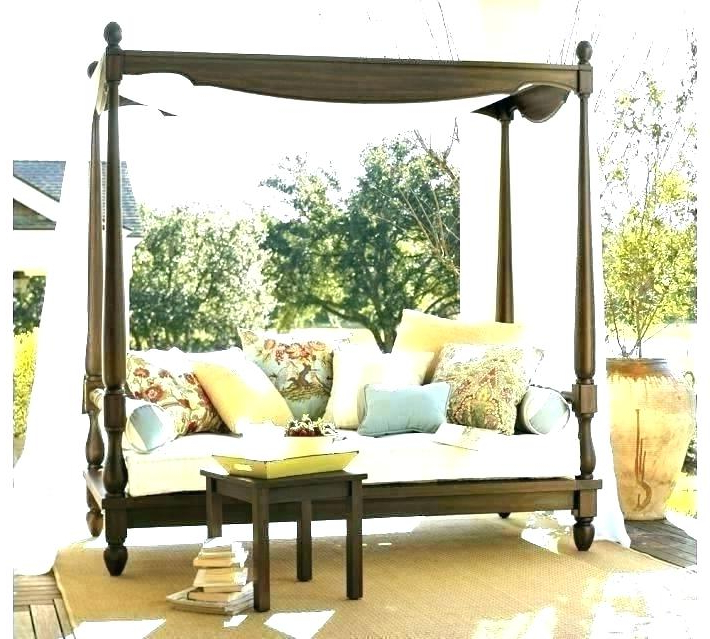 Fashionable Canopy Over Daybed – Mobilejesus.co Intended For Behling Canopy Patio Daybeds With Cushions (Gallery 20 of 20)