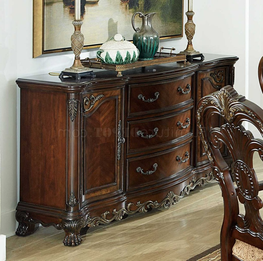 Fashionable Chalus Sideboards Pertaining To Deryn Park 2243 114 Dining Tablehomelegance W/options (View 10 of 20)