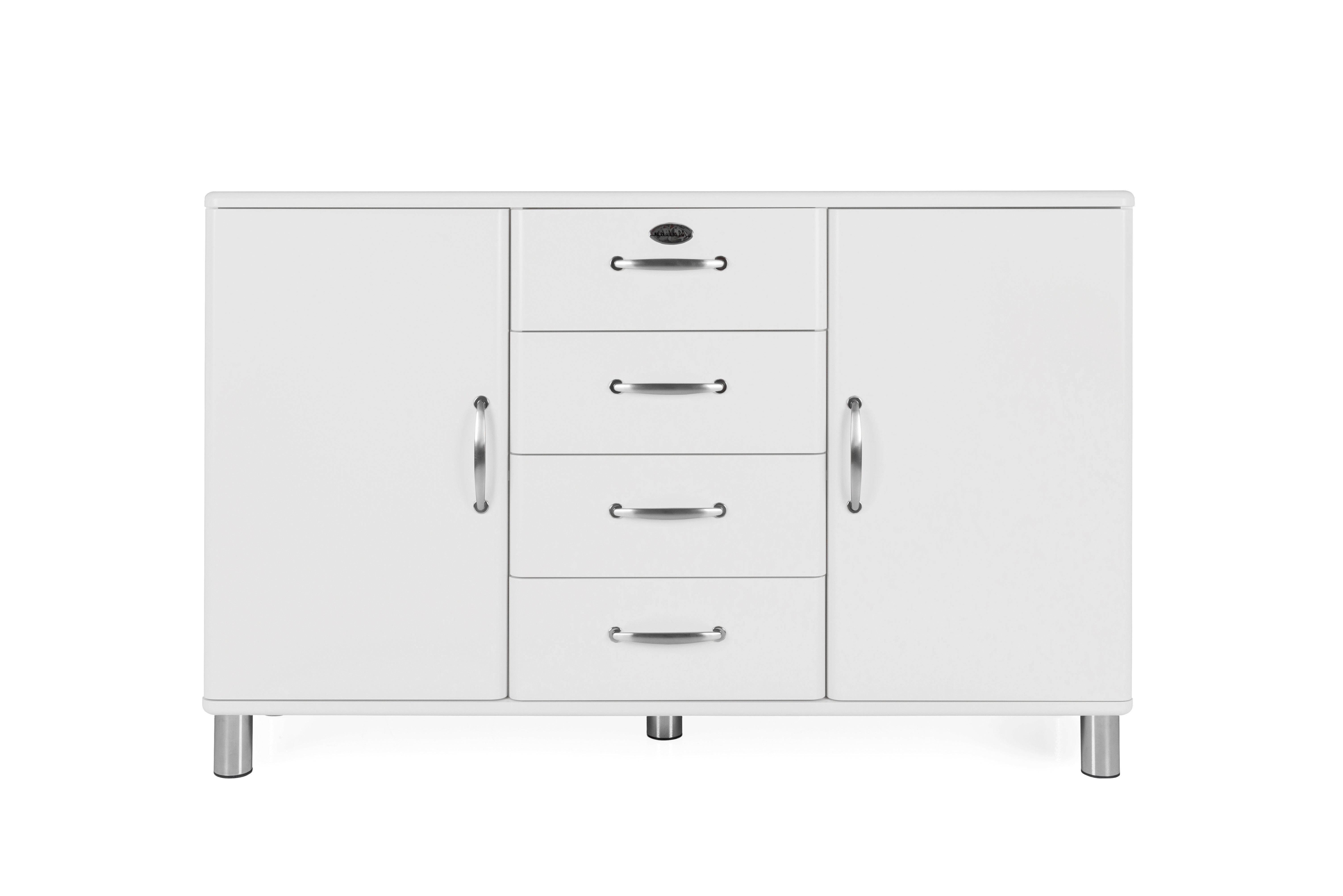 Fashionable Dowler 2 Drawer Sideboards Throughout Malibu 2 Door 4 Drawer Sideboard (View 8 of 20)