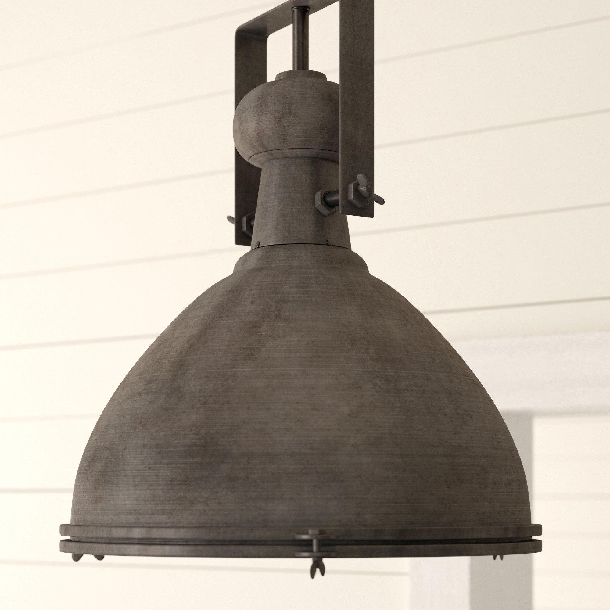 Fashionable Lavern 1 Light Single Dome Pendant For Monadnock 1 Light Single Dome Pendants (Gallery 6 of 20)