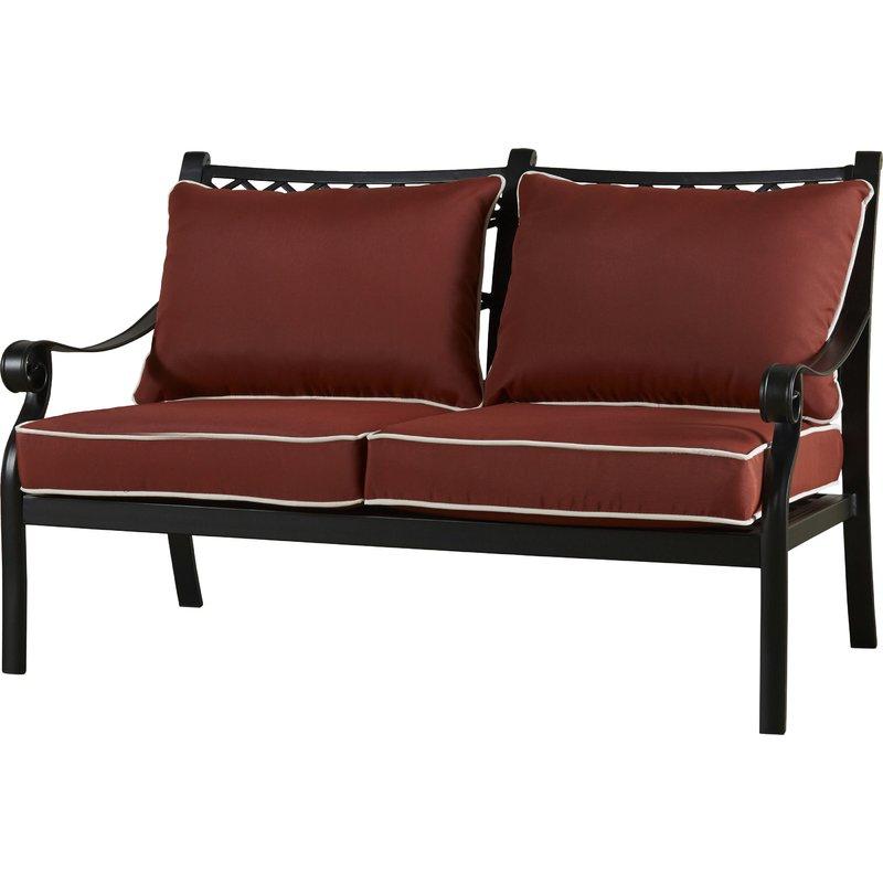 Fashionable Nadine Loveseats With Cushions Pertaining To Nadine Loveseat With Cushions (View 9 of 20)