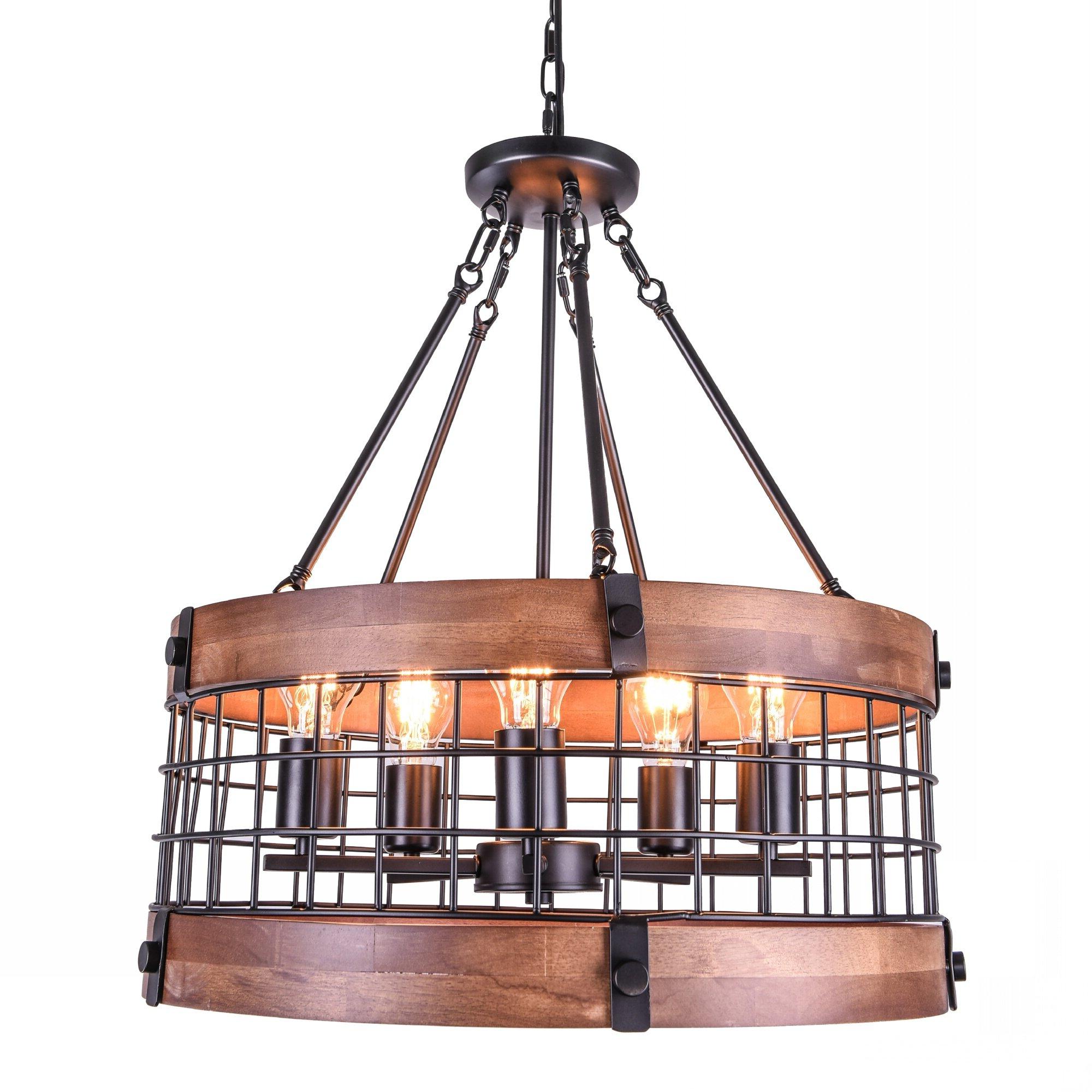 Fashionable Paterson 5 Light Drum Chandelier Within Abel 5 Light Drum Chandeliers (View 10 of 20)