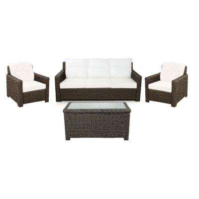 Fashionable Patio Conversation Sets – Outdoor Lounge Furniture – The Regarding Laguna Outdoor Sofas With Cushions (Gallery 17 of 20)