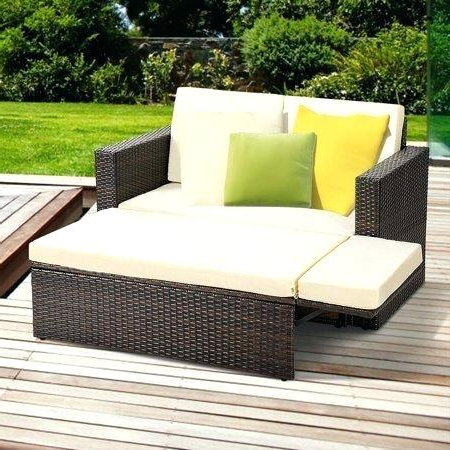 Fashionable Rowley Patio Sofas Set With Cushions Throughout Ottoman Cushions Walmart Furniture Options Closing Bench (View 7 of 20)