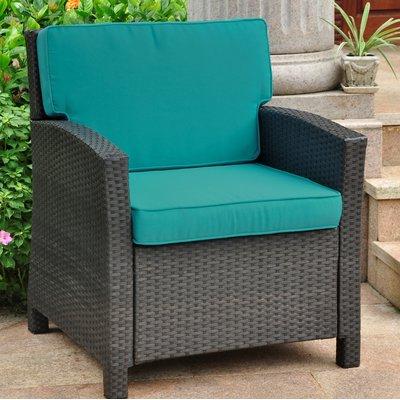 Fashionable Stapleton Wicker Resin Contemporary Patio Chair With Cushion Inside Stapleton Wicker Resin Patio Sofas With Cushions (Gallery 12 of 20)