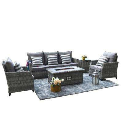 Fashionable Tiana Patio Daybeds With Cushions Throughout Direct Wicker – The Home Depot (View 3 of 20)