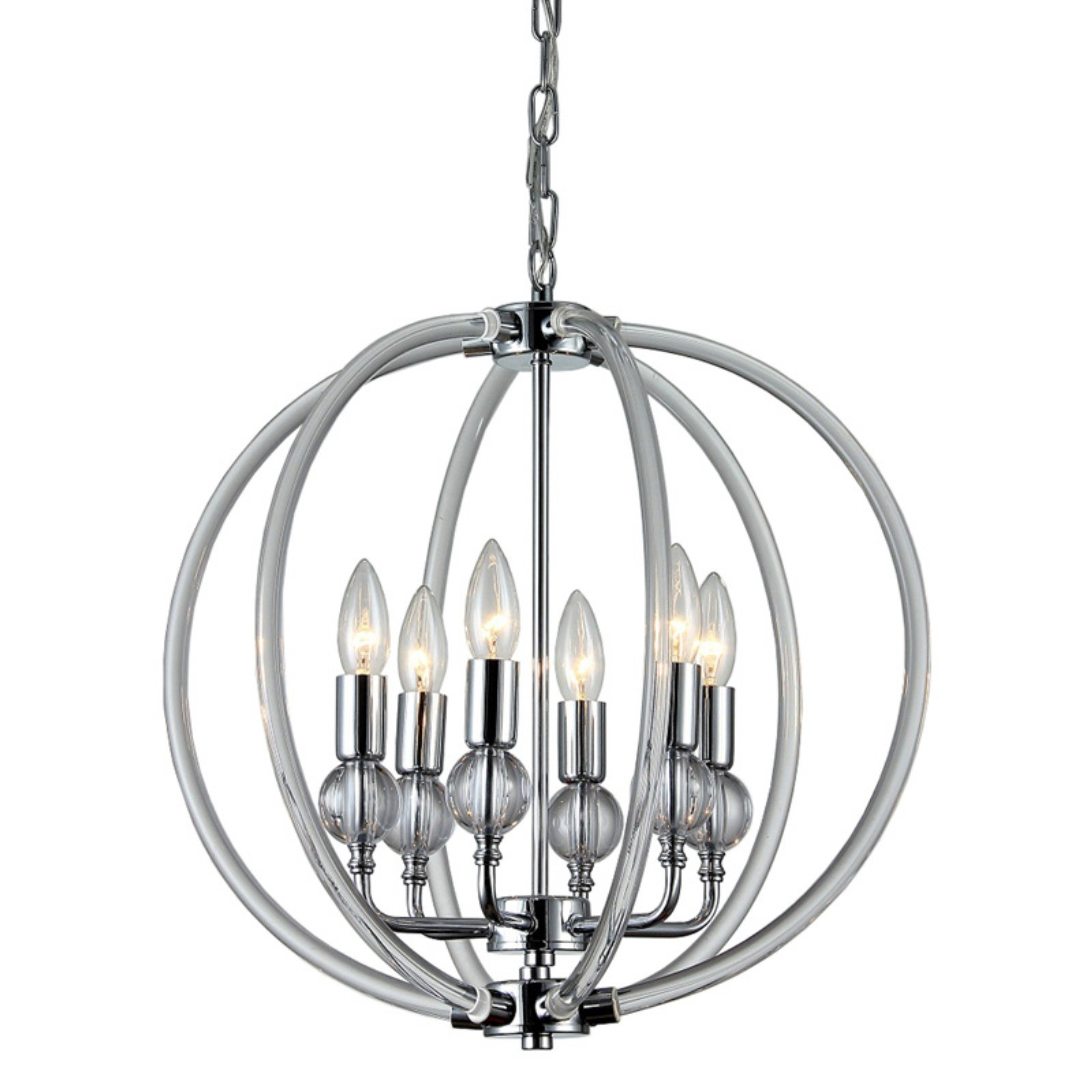 Fashionable Warehouse Of Tiffany Cage Globe Chandelier (Gallery 10 of 20)