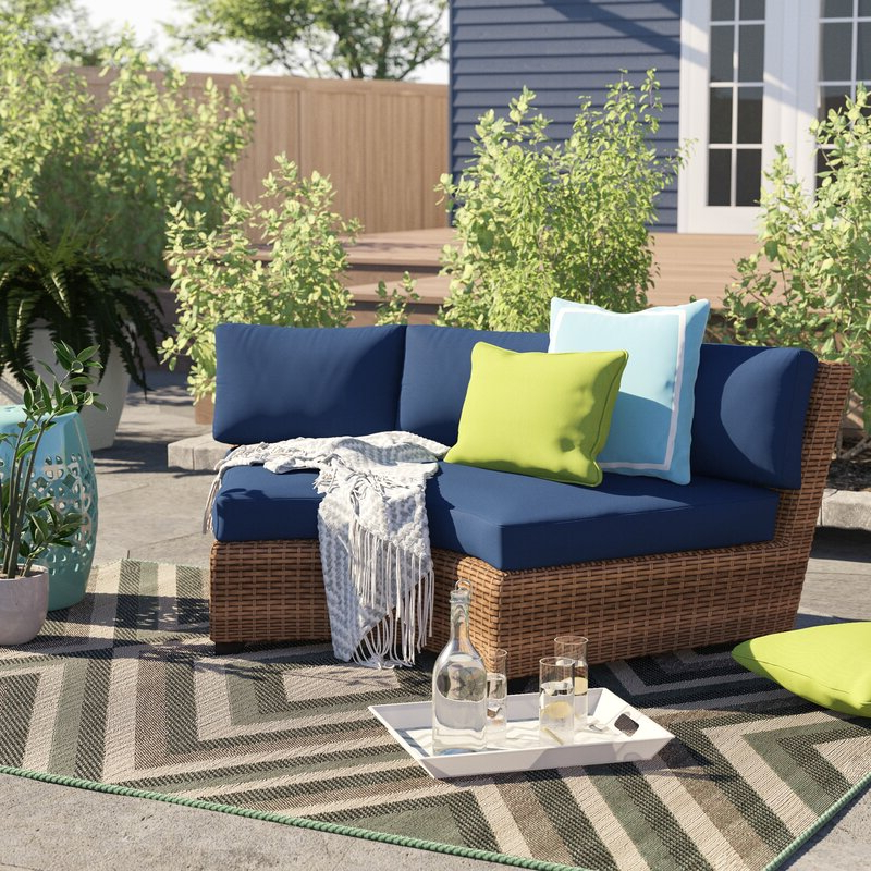 Fashionable Waterbury Curved Armless Sofa With Cushions For Waterbury Curved Armless Sofa With Cushions (Gallery 3 of 20)