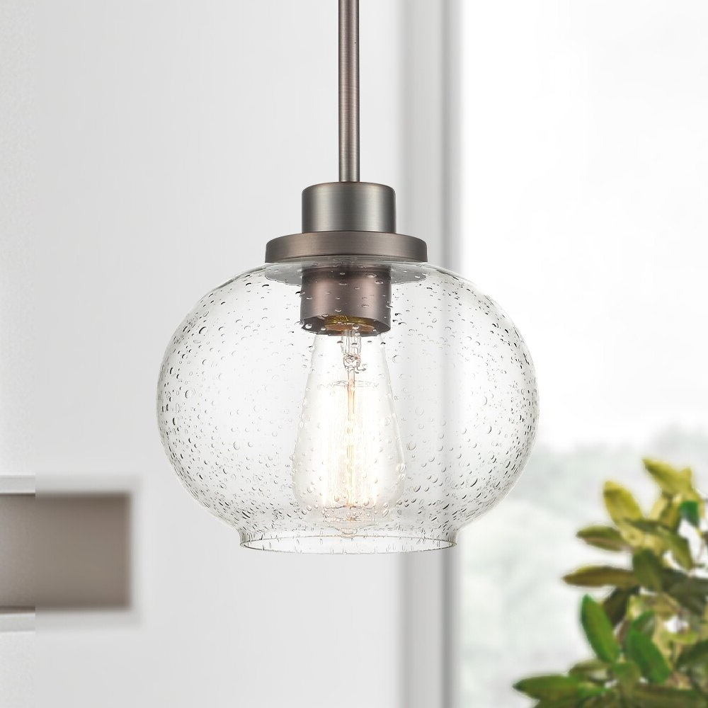 Fashionable Wiesner 1 Light Globe Pendant For Giacinta 1 Light Single Bell Pendants (View 10 of 20)