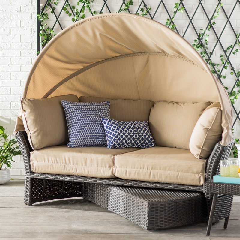Favorite Aubrie Patio Daybeds With Cushions Intended For Best Outdoor Daybed Reviews: Check Out These Top 10 Choices! (View 17 of 20)