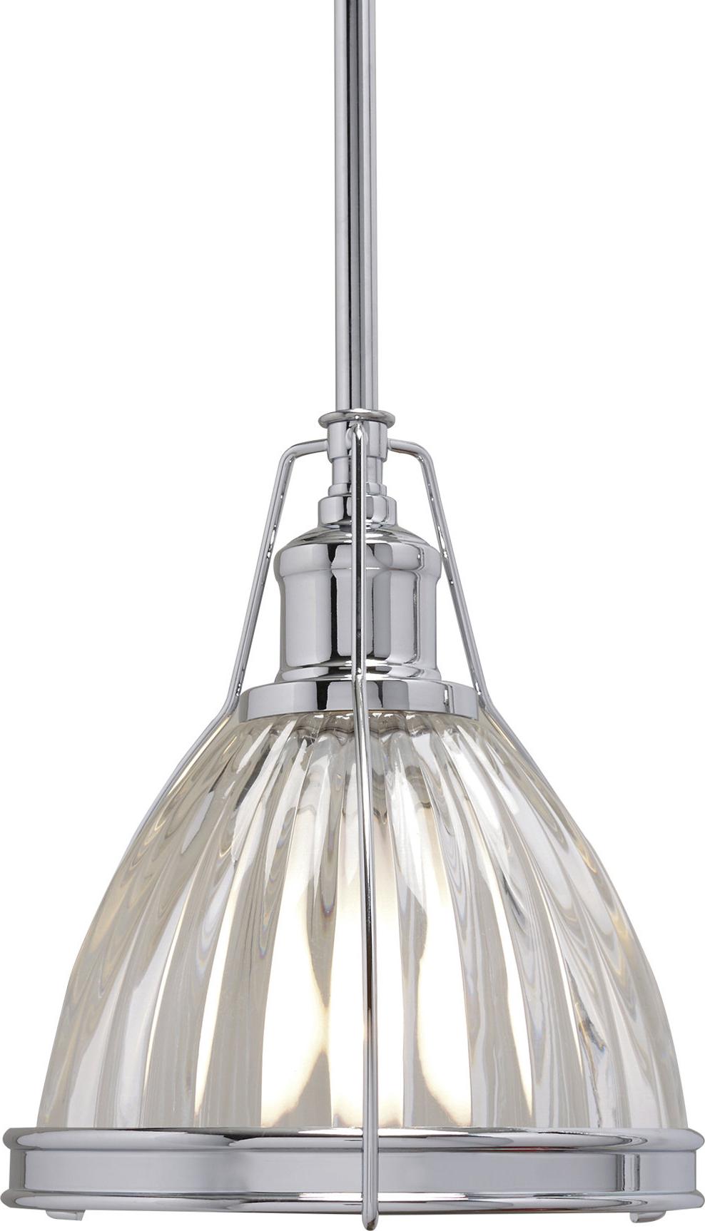 Favorite Birch Lane™ Heritage 1 Light Single Bell Pendant In Erico 1 Light Single Bell Pendants (View 10 of 20)