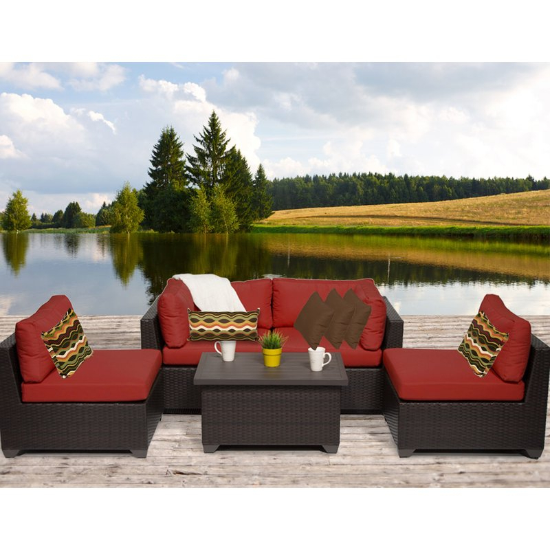 Favorite Camak Patio Chair With Cushions In Camak Patio Sofas With Cushions (Gallery 5 of 20)