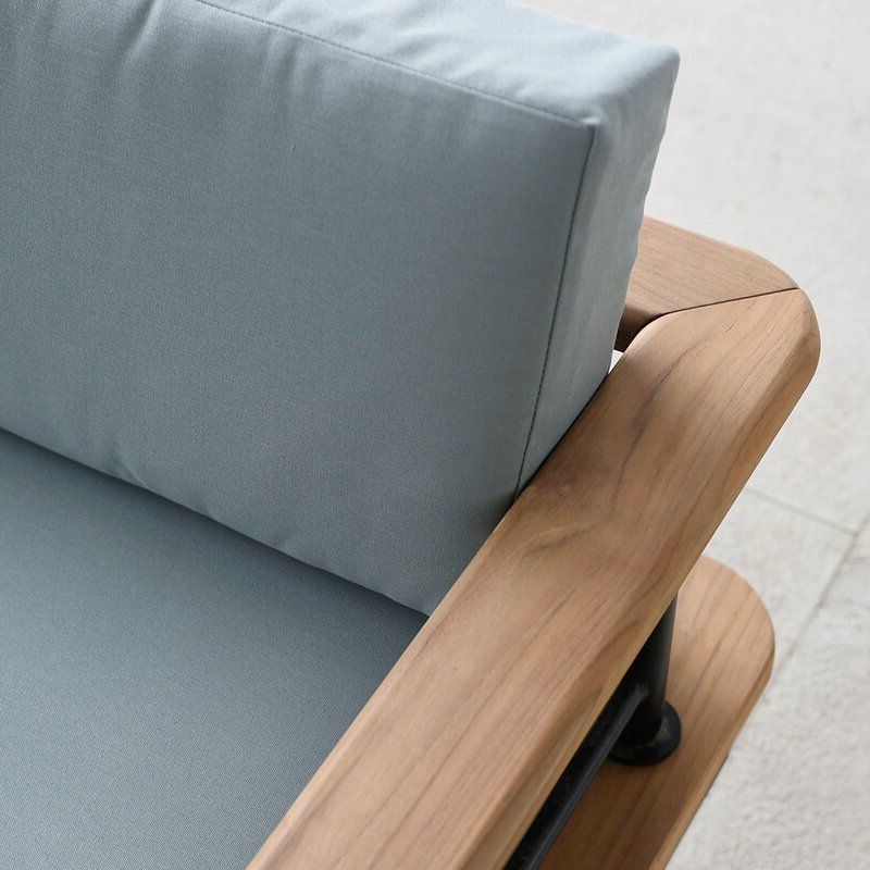 Favorite Clary Teak Lounge Patio Daybed With Cushion With Clary Teak Lounge Patio Daybeds With Cushion (View 14 of 20)
