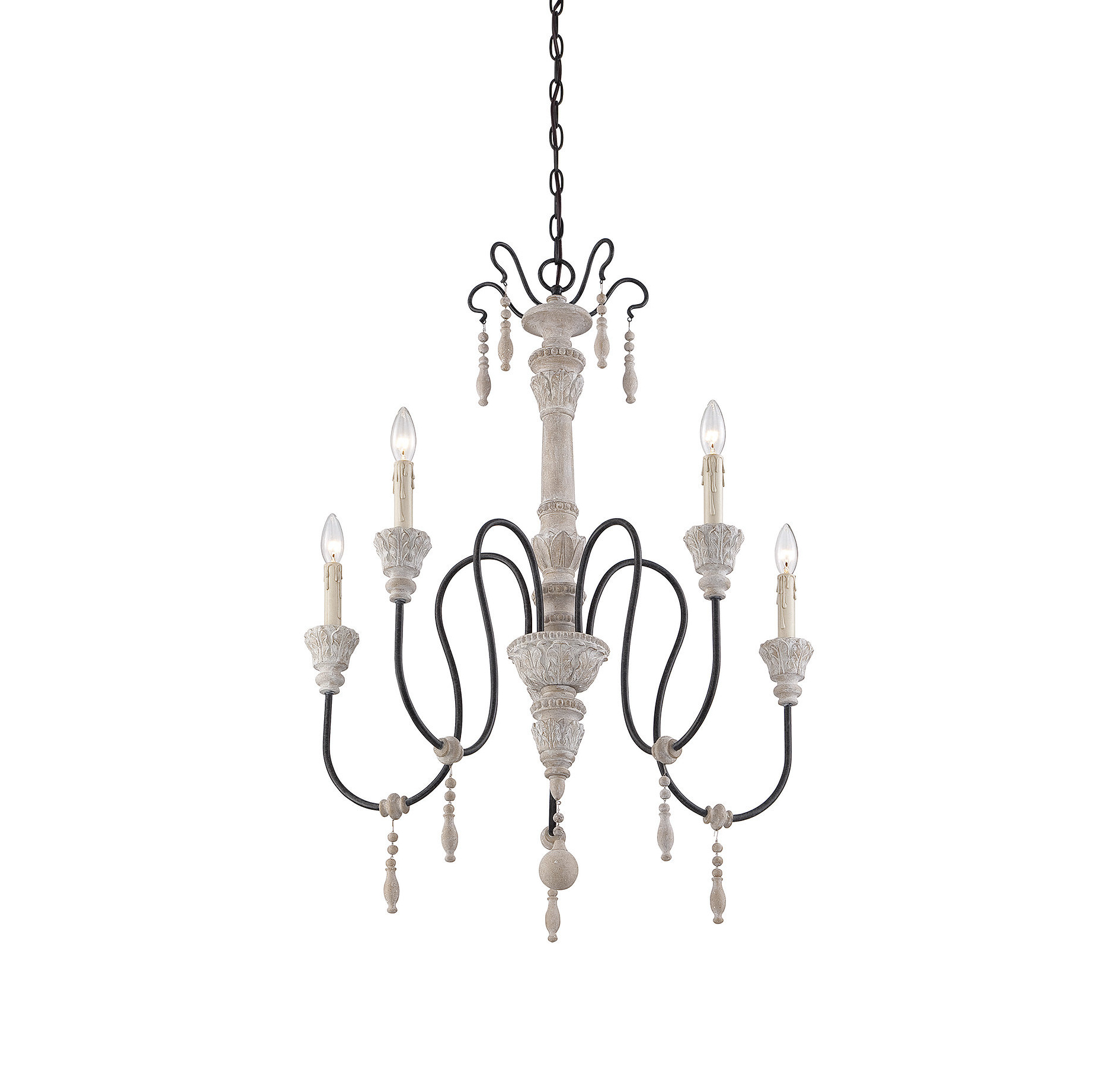 Favorite Corneau 5 Light Chandelier Intended For Paladino 6 Light Chandeliers (Gallery 9 of 20)
