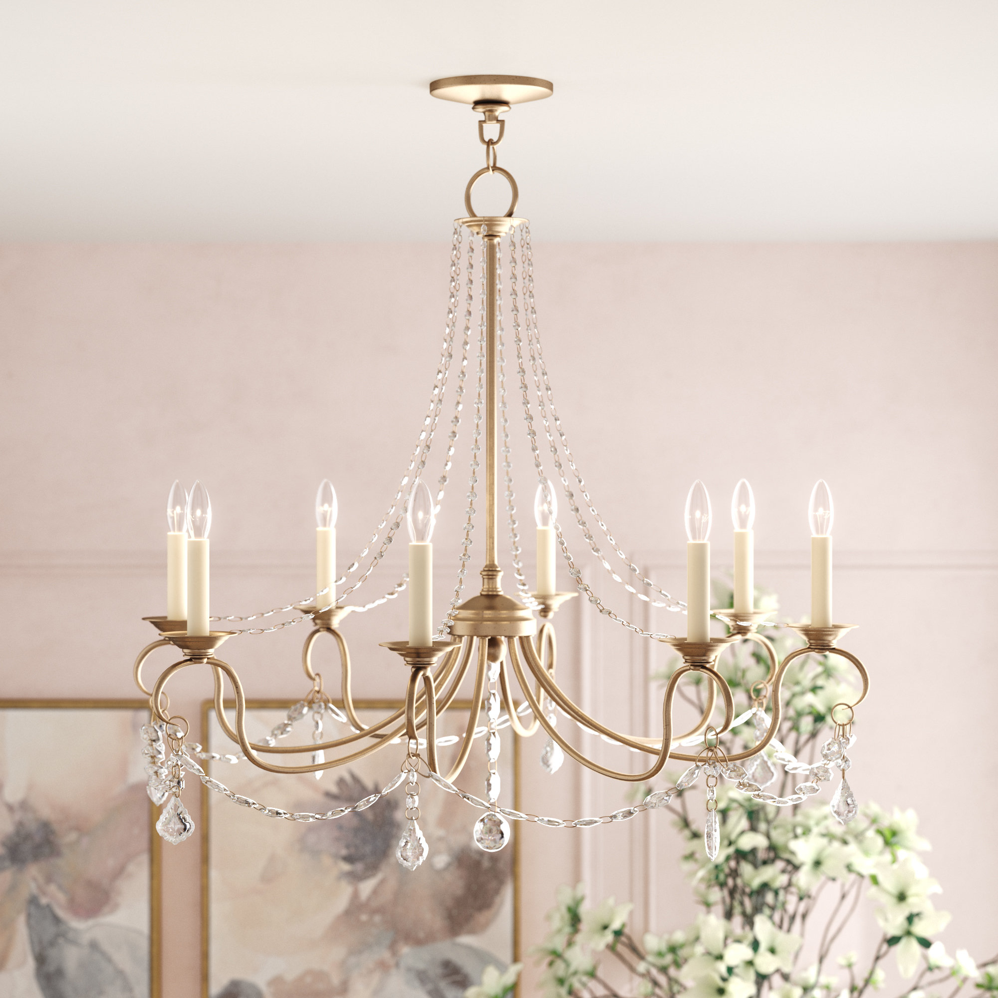 Favorite Devana 8 Light Chandelier With Paladino 6 Light Chandeliers (Gallery 7 of 20)