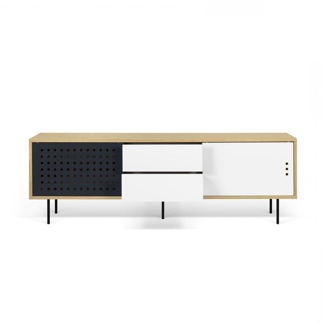 Favorite Dovray Sideboards Regarding Garry Modern Stripes Sideboard (View 9 of 20)