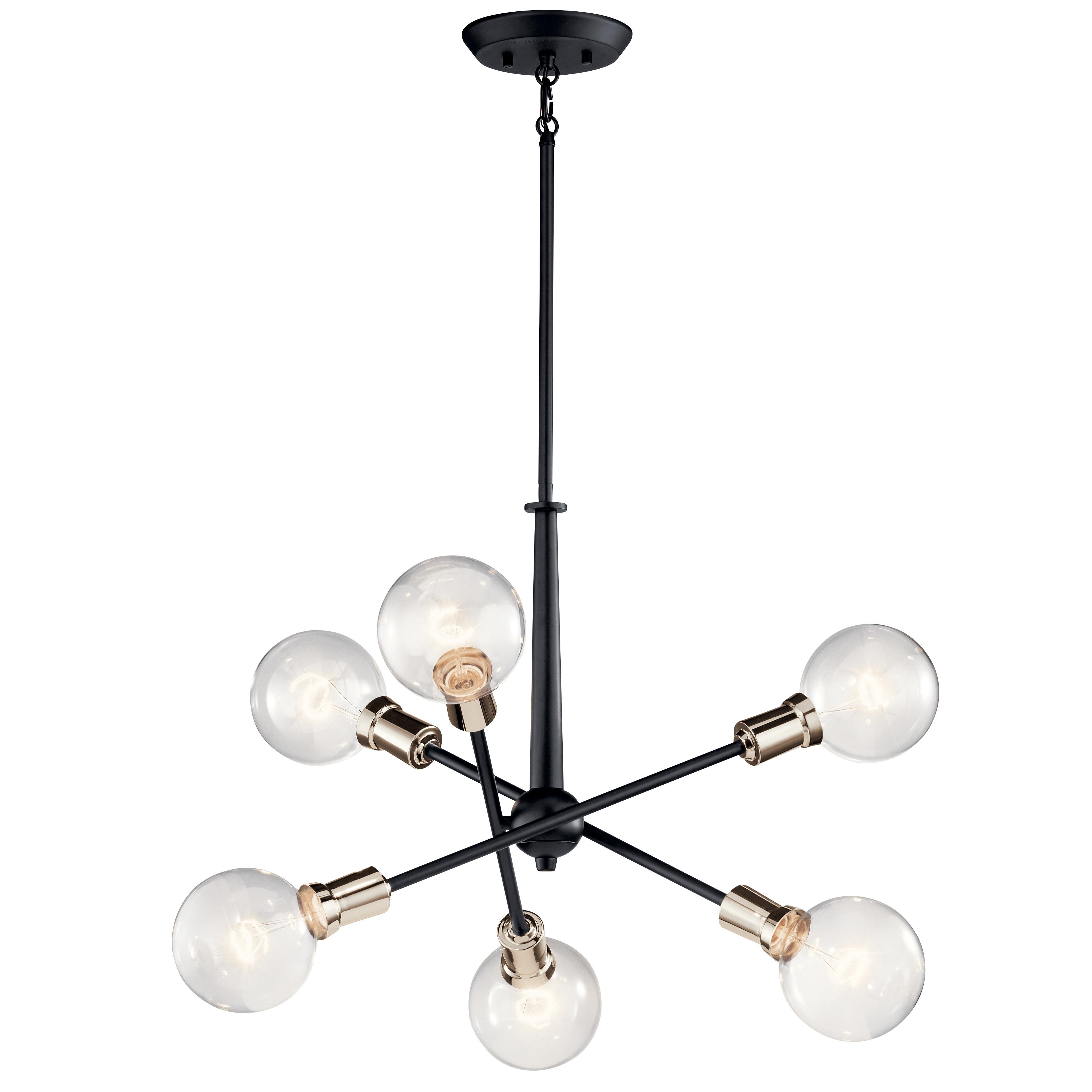 Favorite Eladia 6 Light Sputnik Chandeliers Inside Lalonde 6 Light Sputnik Chandelier (Gallery 5 of 20)