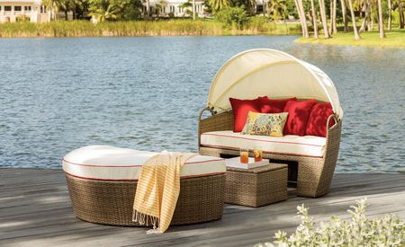Favorite Fansler Patio Daybeds With Cushions In Beachcrest Home Fansler Patio Daybed With Cushions & Reviews (View 8 of 20)