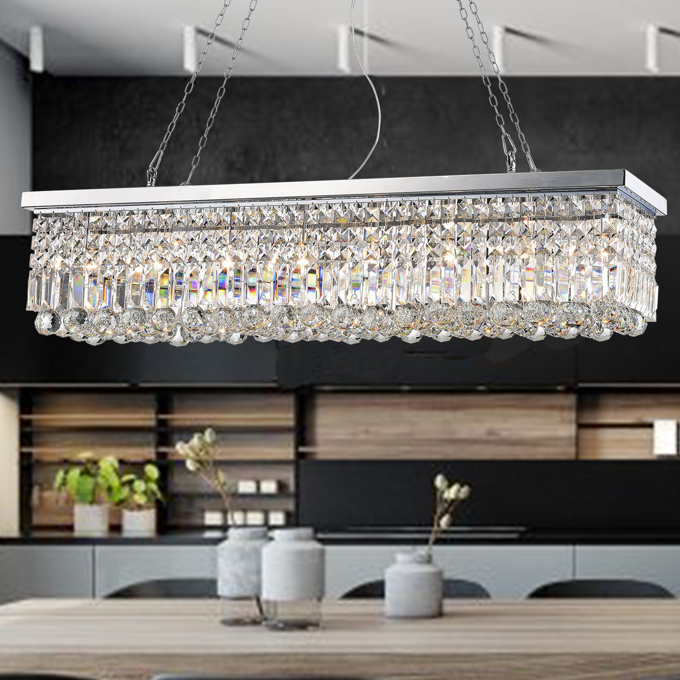 Favorite Gracelyn 8 Light Kitchen Island Pendant Throughout Gracelyn 8 Light Kitchen Island Pendants (View 5 of 20)