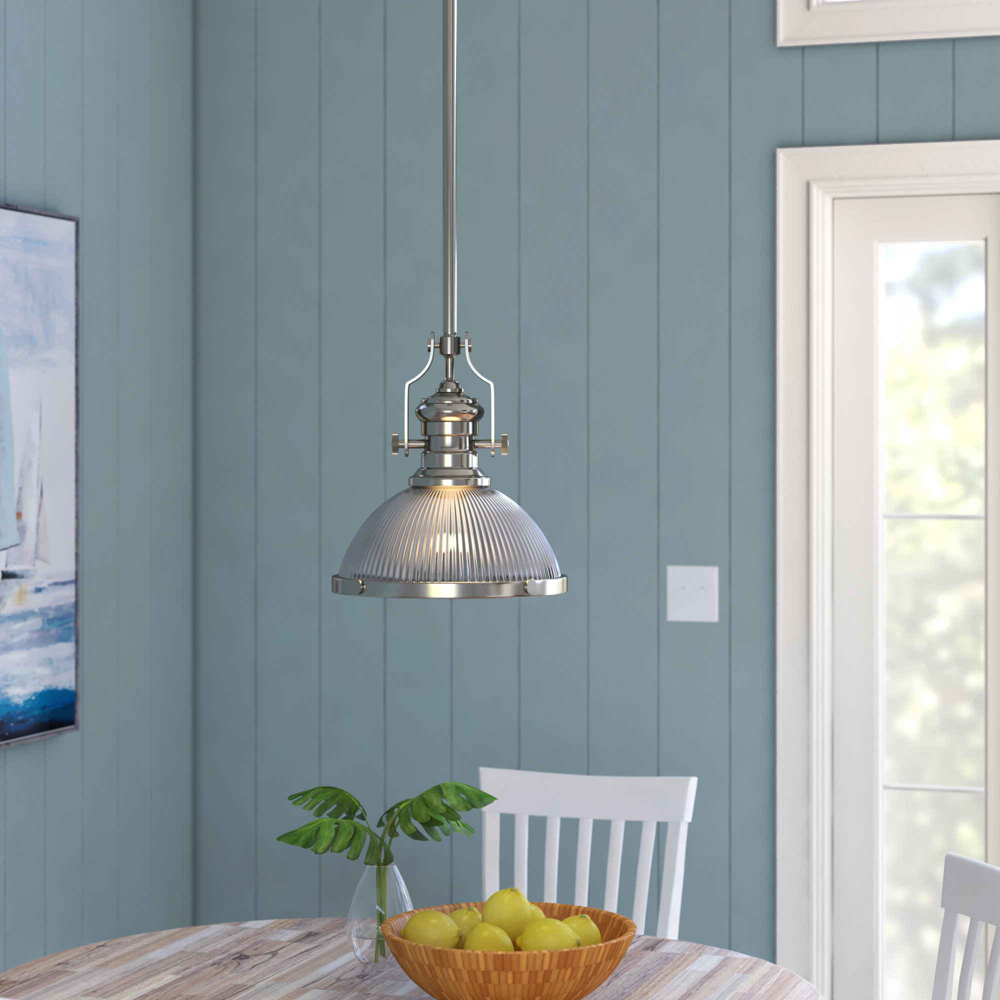 Favorite Granville 3 Light Single Dome Pendants With Regard To Priston 1 Light Single Dome Pendant (View 8 of 20)