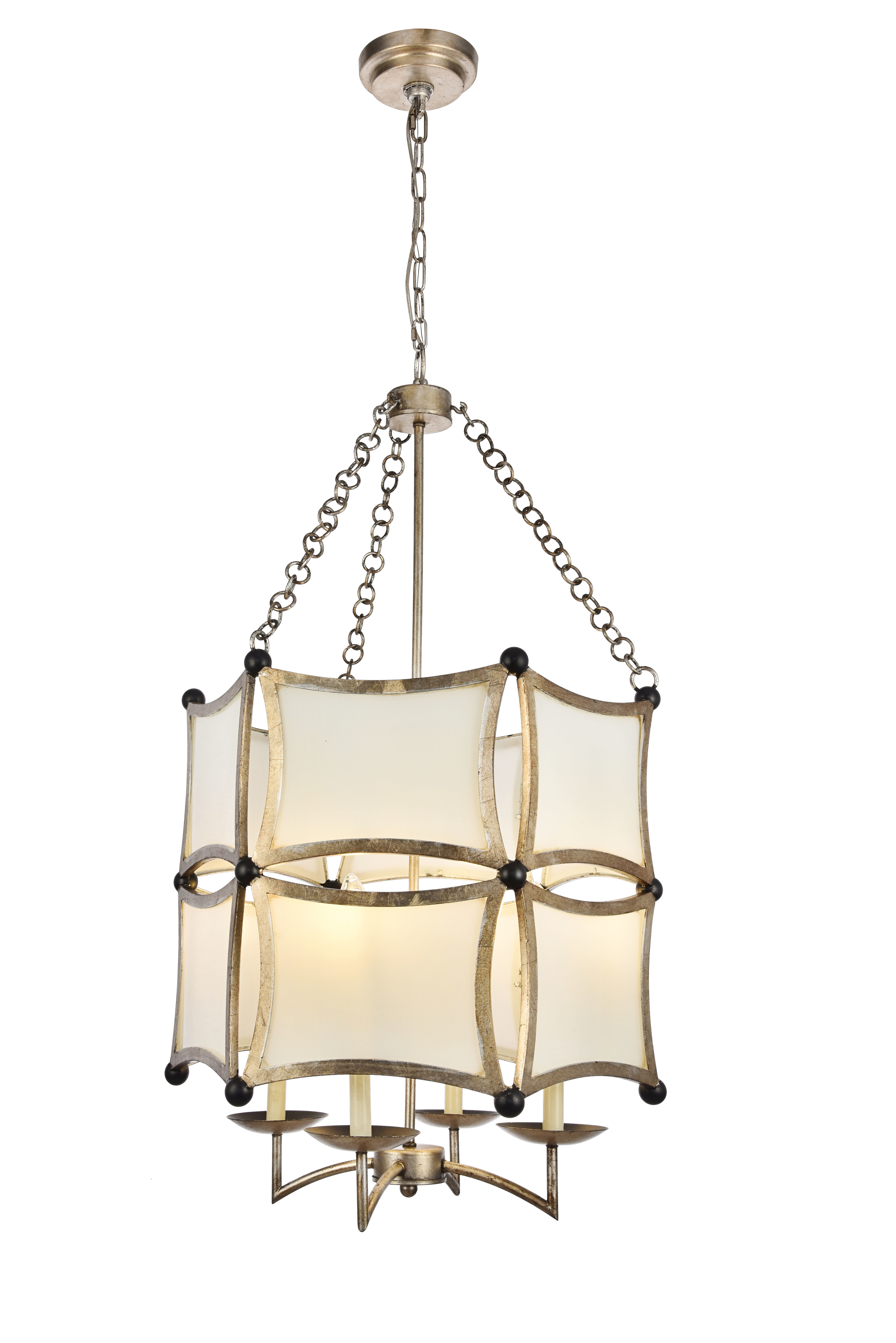 Favorite Hewitt 4 Light Square Chandeliers With Latitude Run Sterner 4 Light Lantern Chandelier (Gallery 20 of 20)