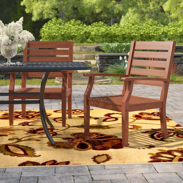 Favorite Hursey Patio Sofas Throughout Best #1 Rucker Patio Dining Chairwrought Studio (View 2 of 20)