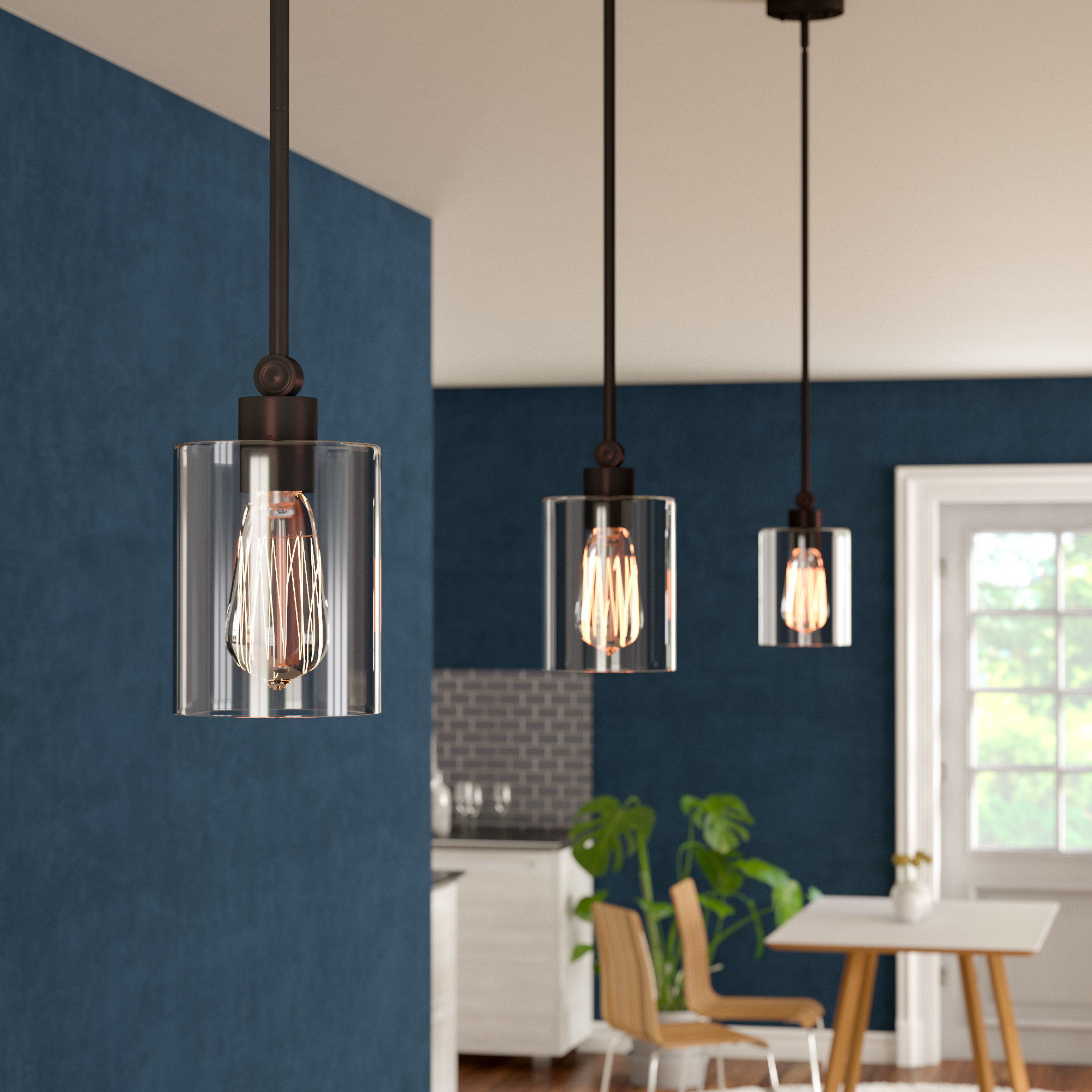 Favorite Jayce 1 Light Cylinder Pendants With Regard To Rylan 1 Light Cylinder Pendant (View 5 of 20)