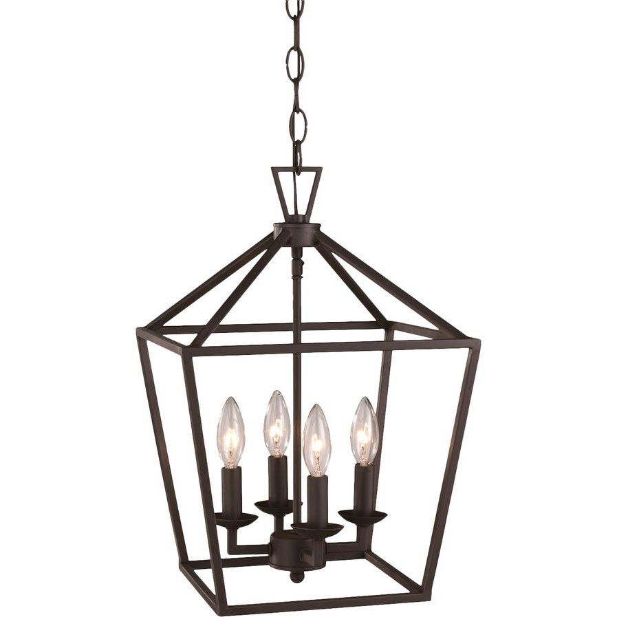Favorite Laurel Foundry Modern Farmhouse Carmen 6 Light Kitchen Pertaining To Carmen 6 Light Lantern Geometric Pendants (View 13 of 20)