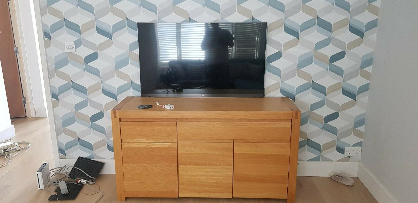 Favorite Malibu 2 Door 4 Drawer Sideboards Pertaining To Modern Chunky Oak Large 3 Door 2 Drawer Sideboard (View 4 of 20)