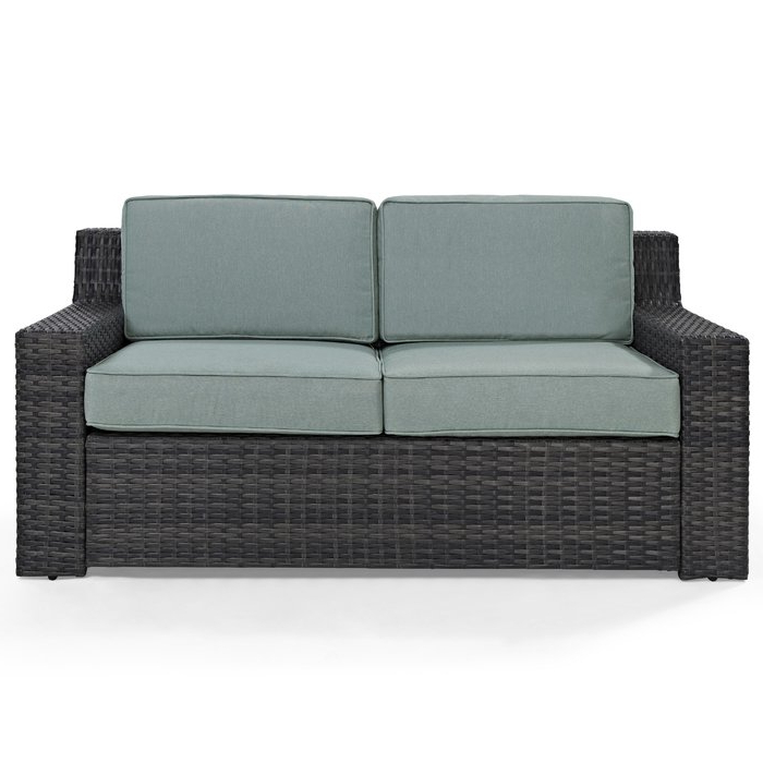 Favorite Mullenax Outdoor Loveseats With Cushions In Linwood Loveseat With Cushions (View 5 of 20)