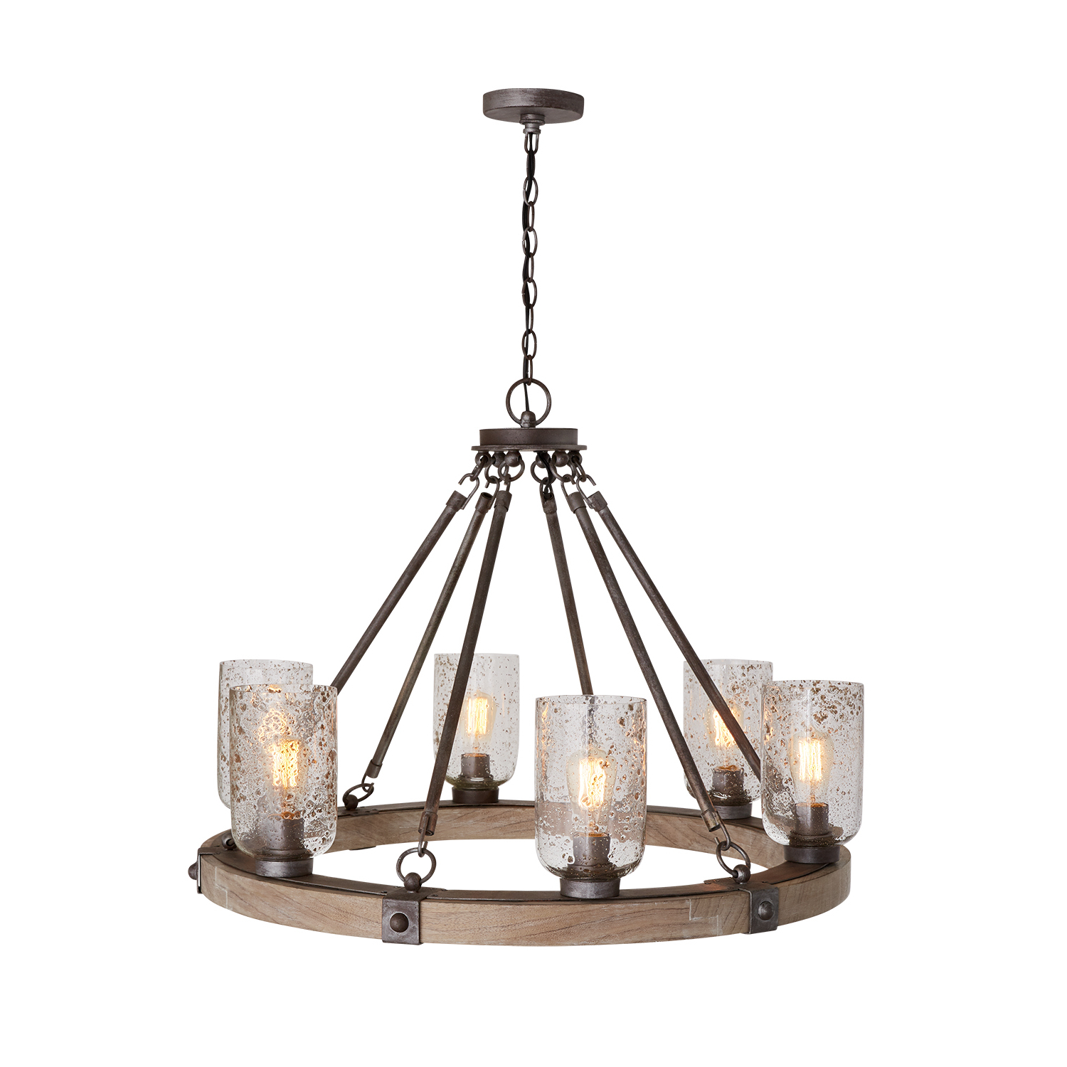 Favorite Nolan 1 Light Lantern Chandeliers Pertaining To 6 Light Chandelier (View 7 of 20)