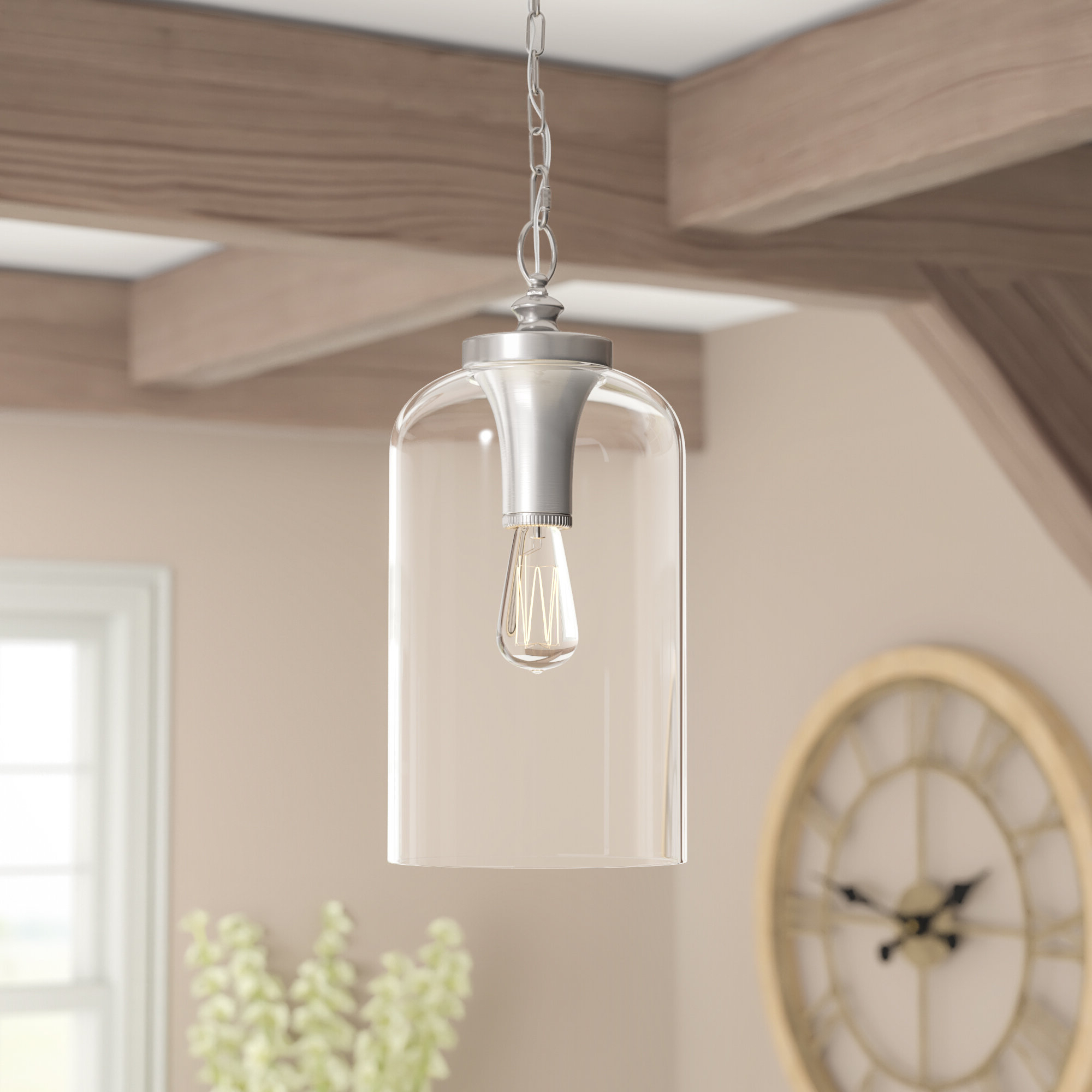 Favorite Nolan 1 Light Single Cylinder Pendant Regarding Clematite 1 Light Single Jar Pendants (View 12 of 20)