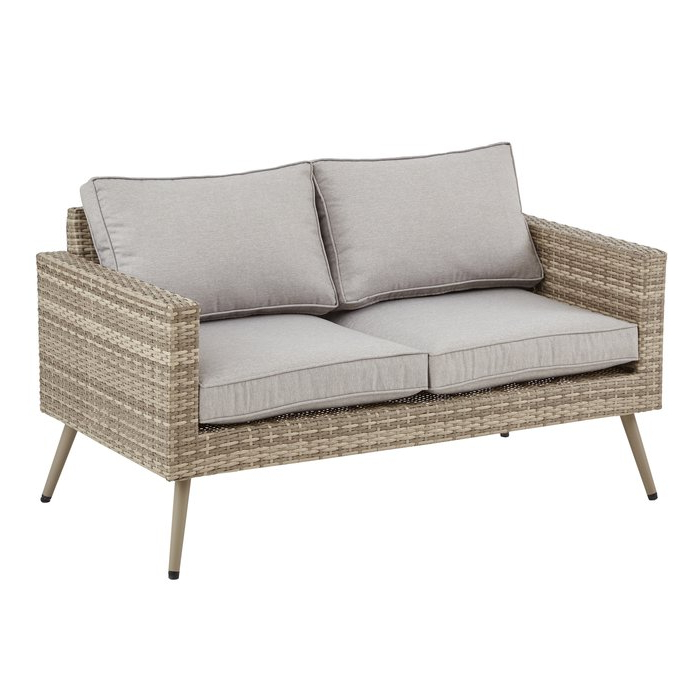 Favorite Pantano Loveseat With Cushions Within Sylvania Outdoor Loveseats (Gallery 13 of 20)