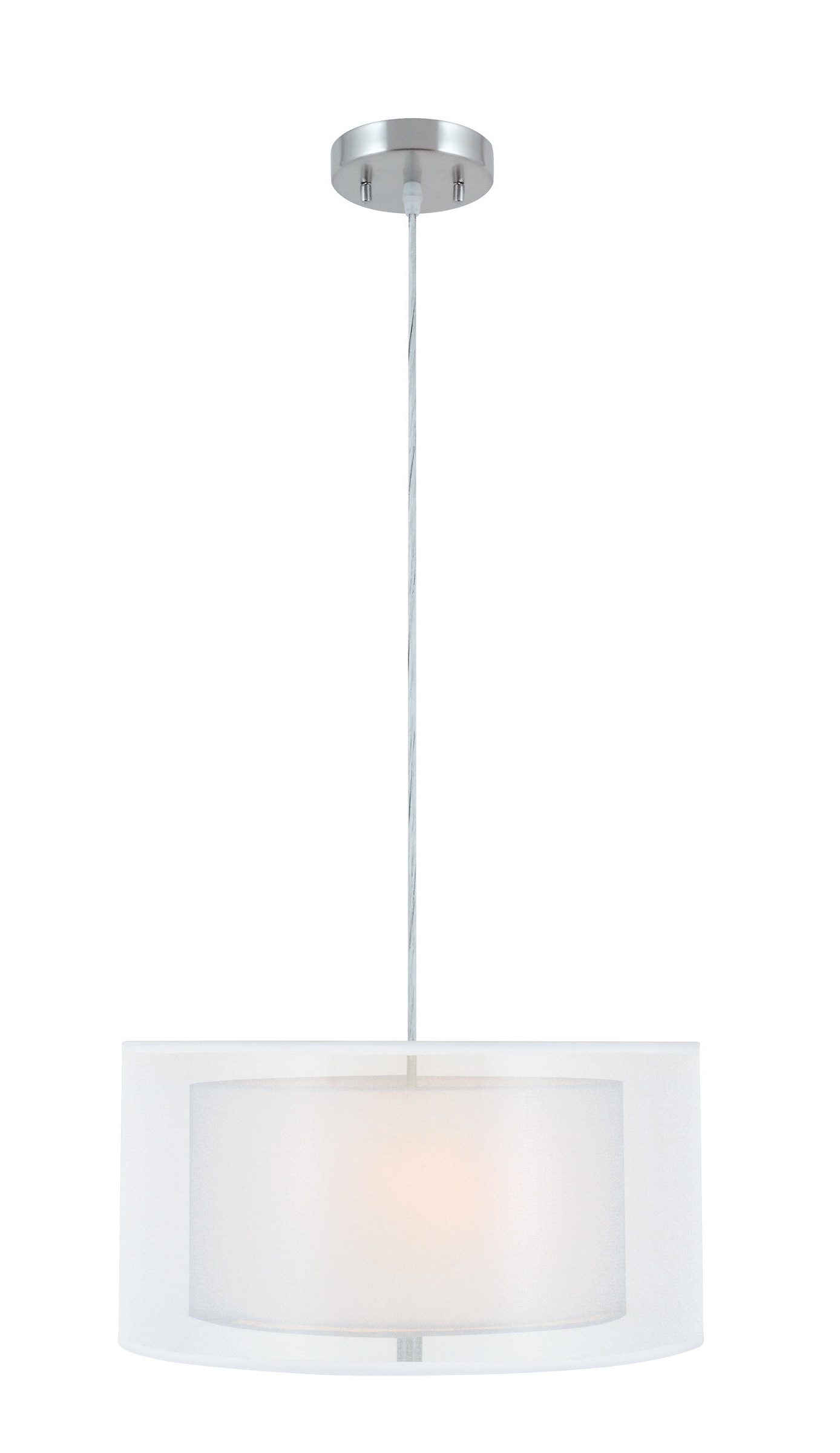 Favorite Radtke 3 Light Single Drum Pendants For Robles 1 Light Single Drum Pendant (Gallery 8 of 20)