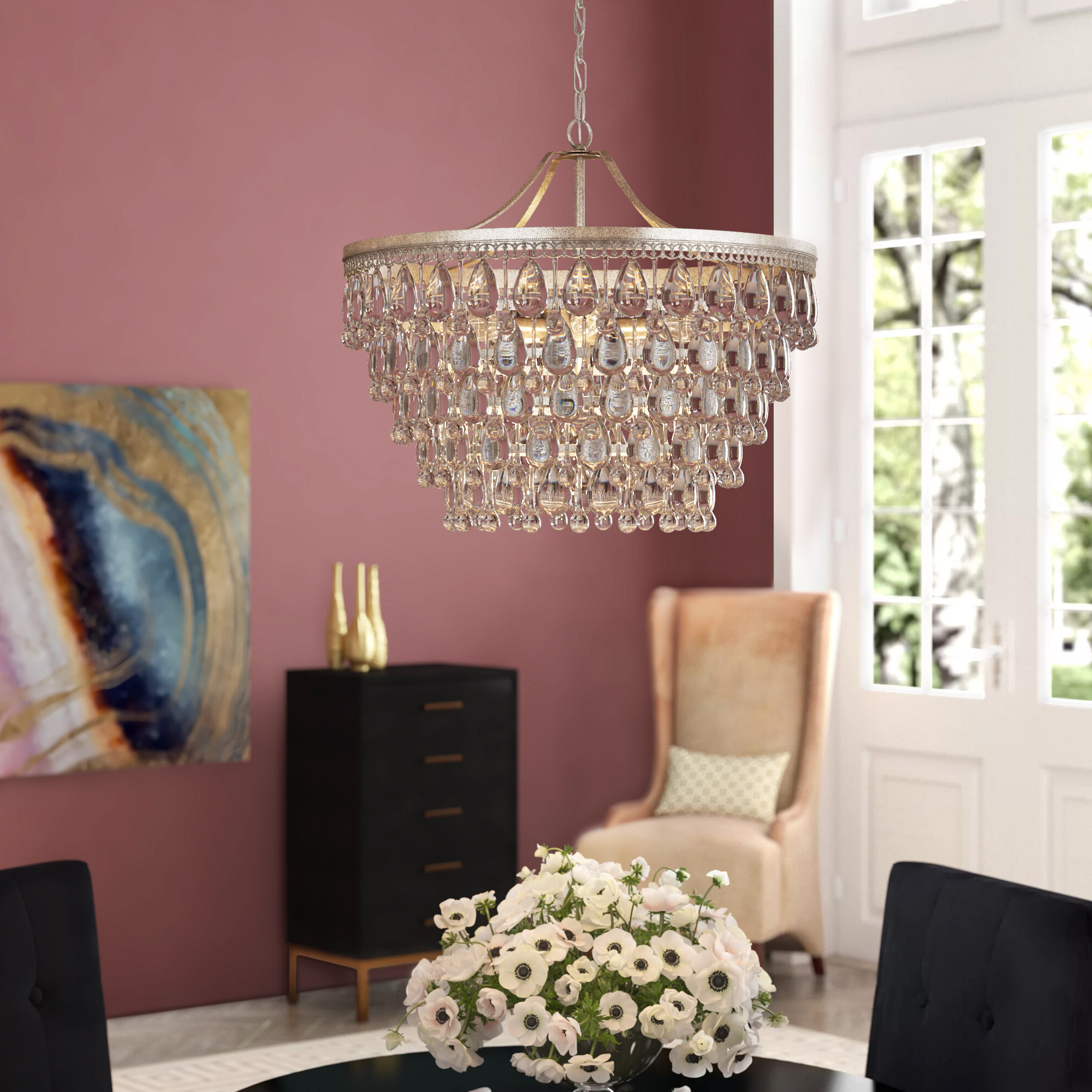 Favorite Rosdorf Park Bramers 6 Light Novelty Chandelier For Bramers 6 Light Novelty Chandeliers (View 3 of 20)