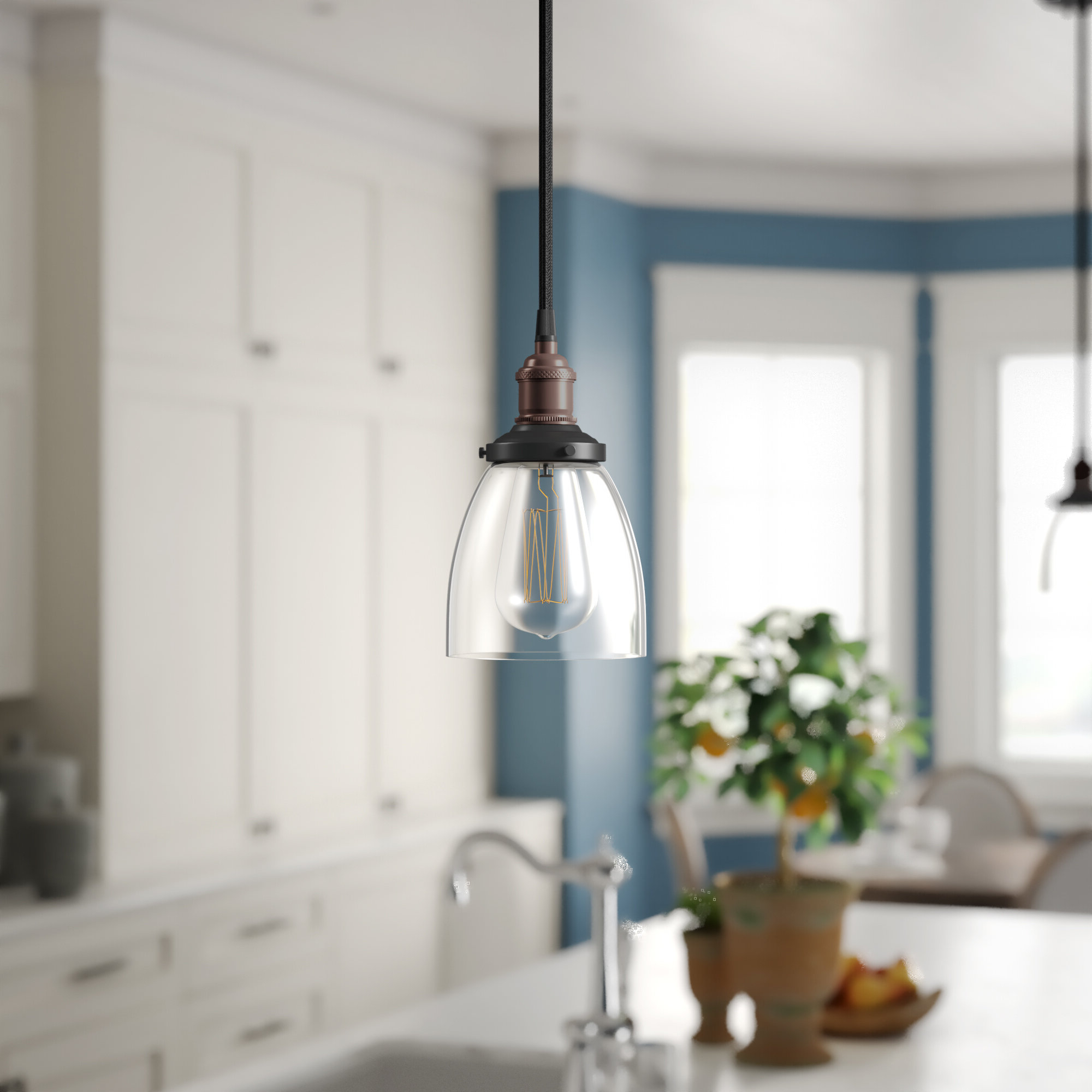 Favorite Sandy Springs 1 Light Single Bell Pendant Inside Yarger 1 Light Single Bell Pendants (Gallery 6 of 20)
