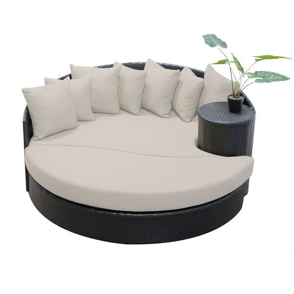 Favorite Sol 72 Outdoor Freeport Patio Daybed With Cushion In 2019 Pertaining To Freeport Patio Daybeds With Cushion (Gallery 6 of 20)