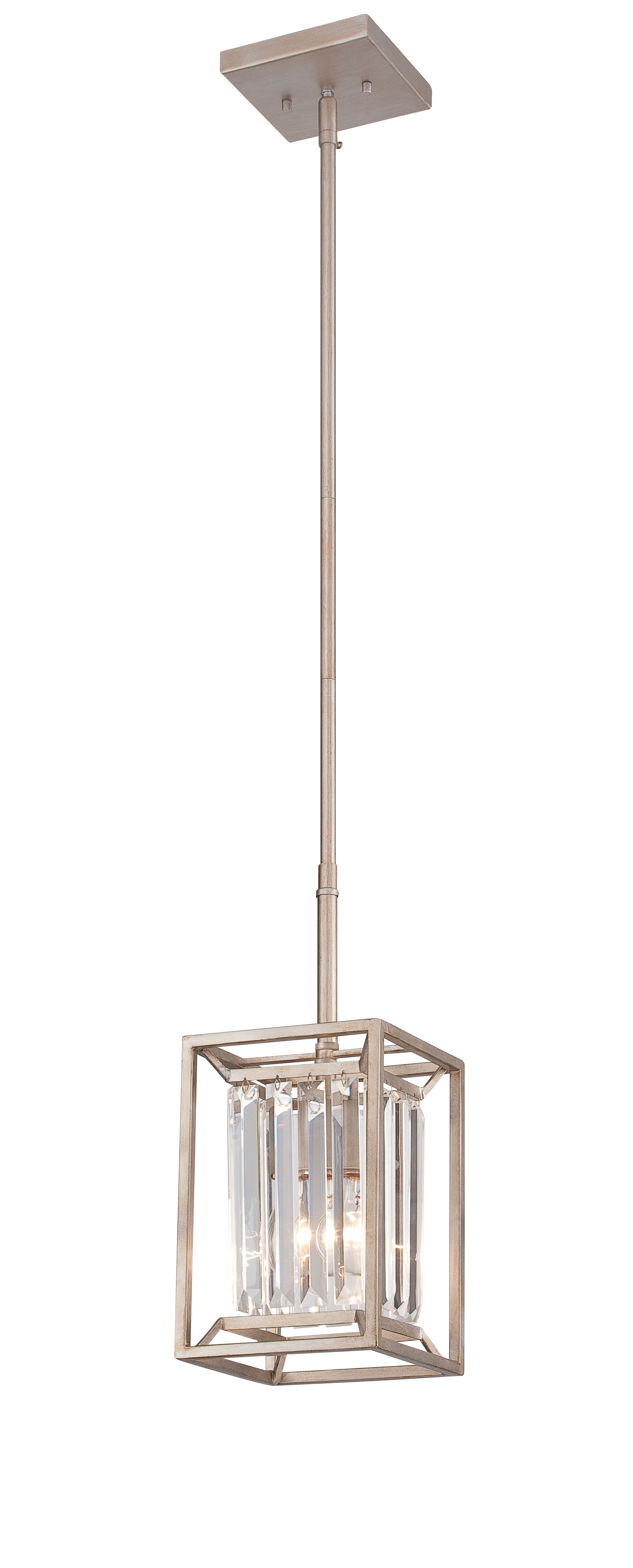 Fennia 1 Light Single Cylinder Pendants Within Best And Newest Syracuse 1 Light Single Square / Rectangle Pendant (View 9 of 20)