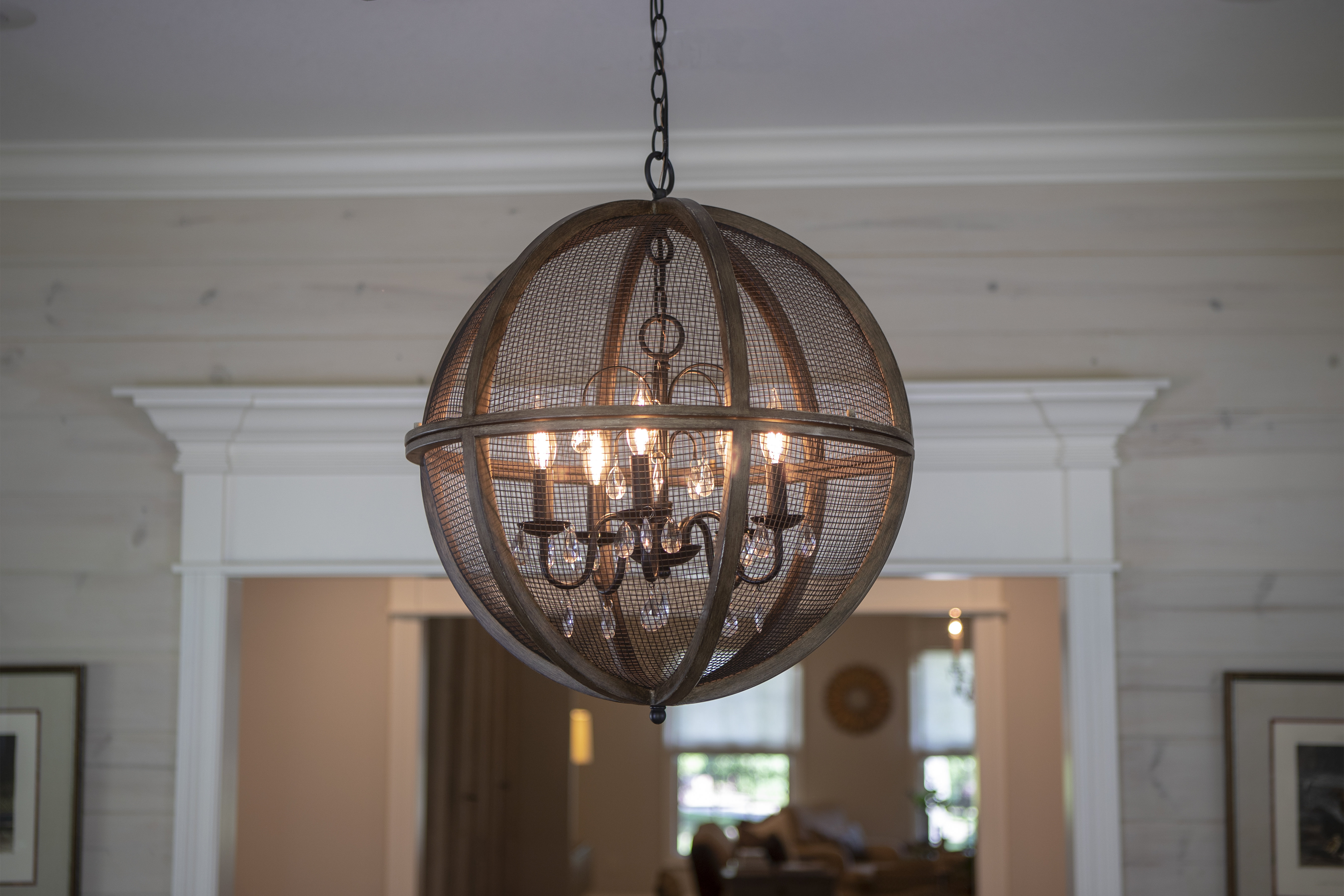 Filipe Globe Chandeliers Throughout Most Current Frodsham 5 Light Globe Chandelier (View 10 of 20)