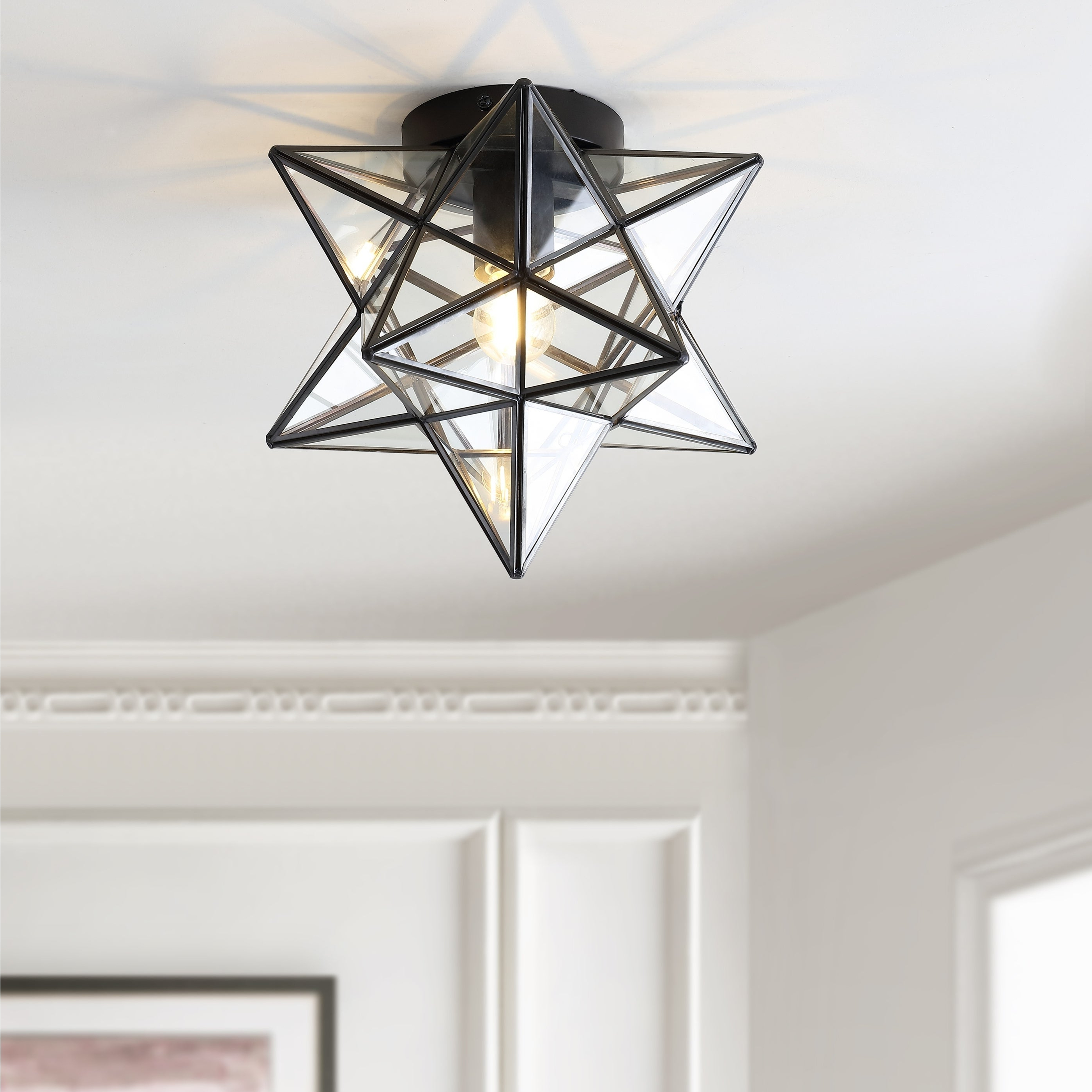 Find Great Ceiling Lighting Deals With Rossi Industrial Vintage 1 Light Geometric Pendants (Gallery 13 of 20)