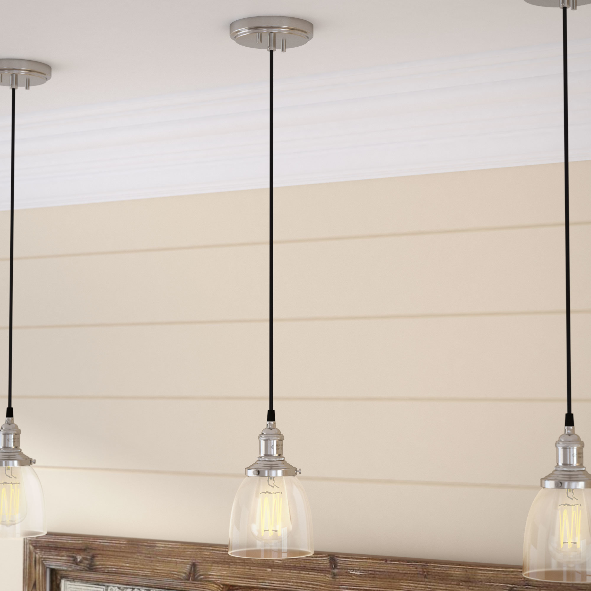 Finlayson Iron Gate 1 Light Single Bell Pendants Within Latest Sandy Springs 1 Light Single Bell Pendant (View 7 of 20)