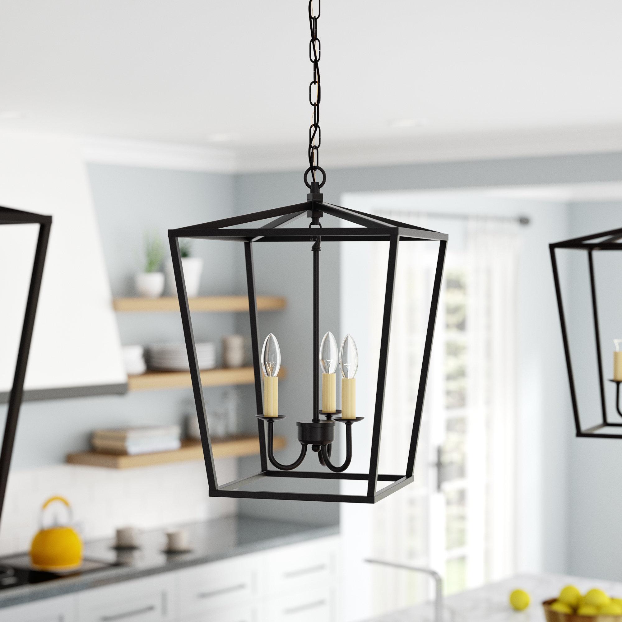 Finnick 3 Light Lantern Pendants Regarding Fashionable Finnick 3 Light Lantern Pendant (Gallery 1 of 20)