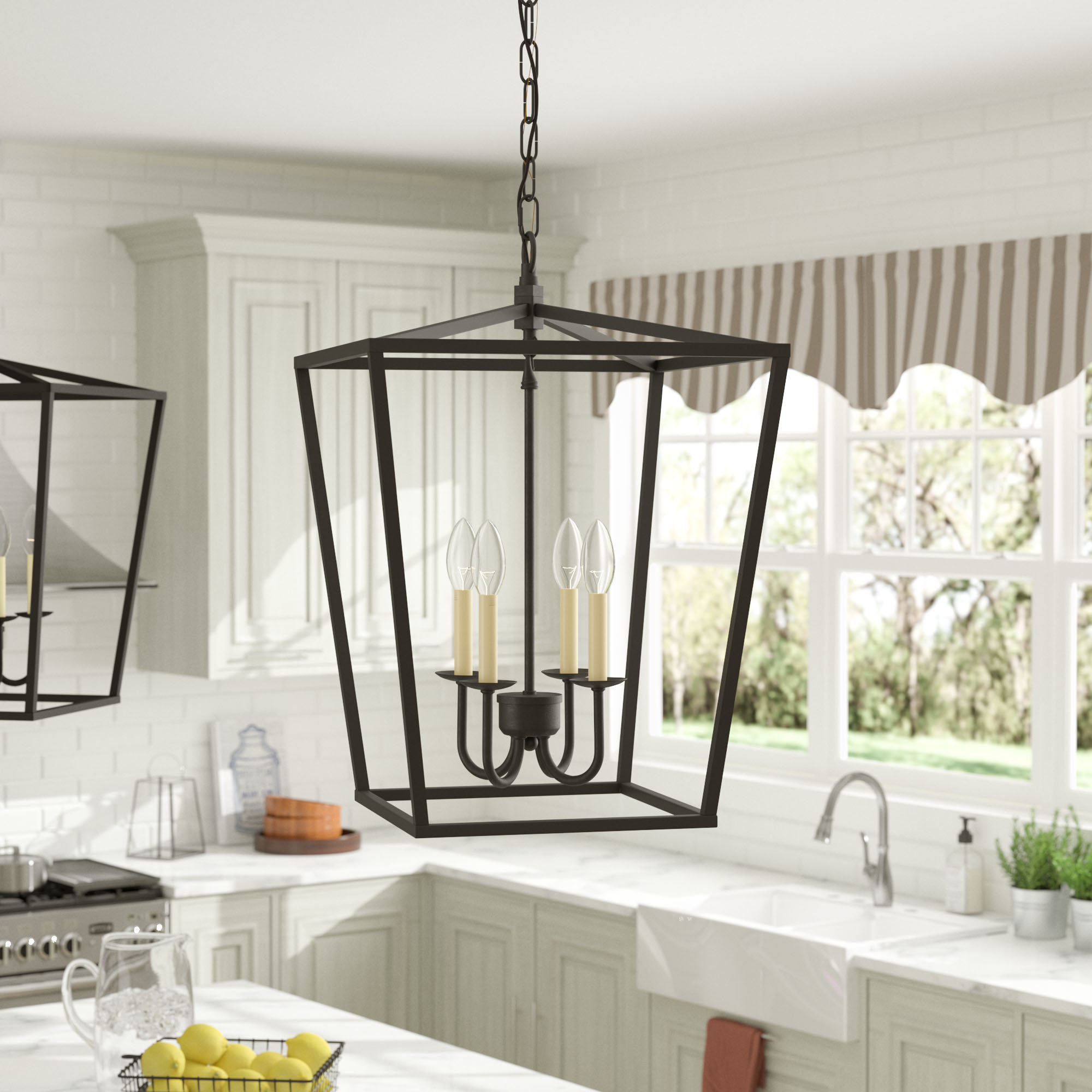 Featured Photo of Finnick 4 Light Foyer Pendants