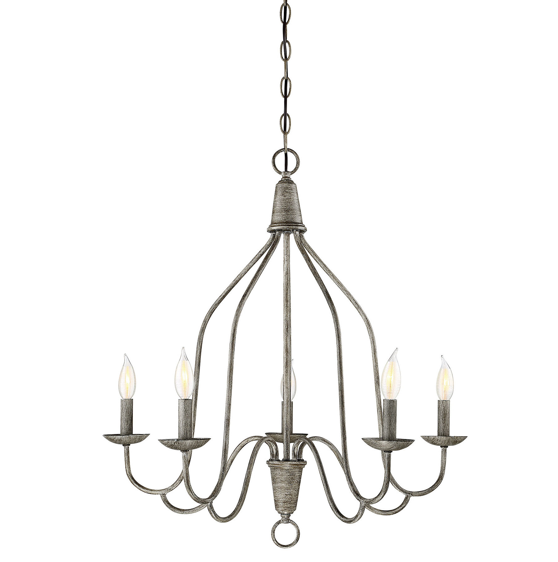 Florentina 5 Light Candle Style Chandeliers Inside Well Known Geeta 5 Light Candle Style Chandelier (View 5 of 20)