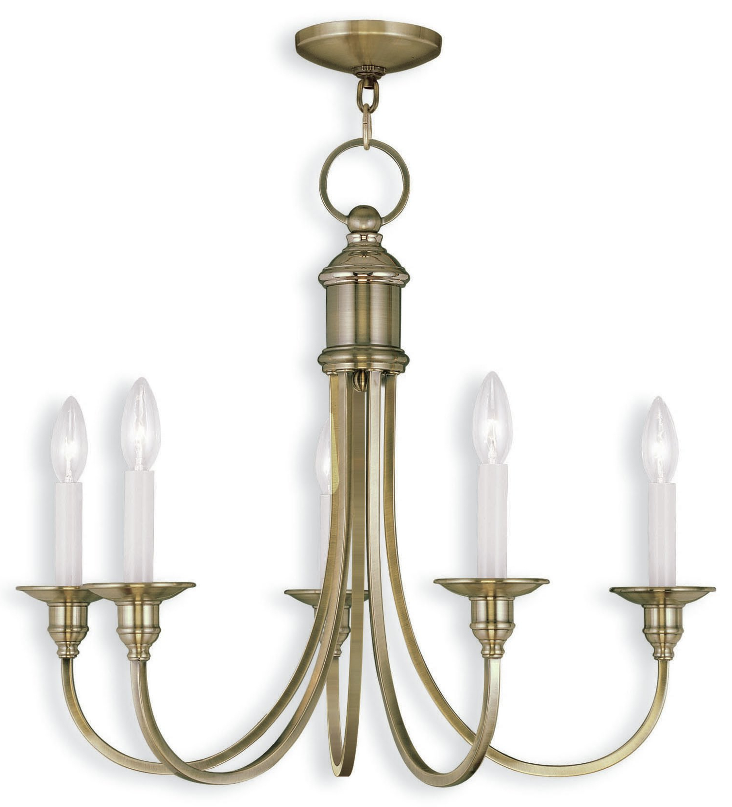 Florentina 5 Light Candle Style Chandeliers Regarding Most Recent Eckard 5 Light Candle Style Chandelier (View 8 of 20)