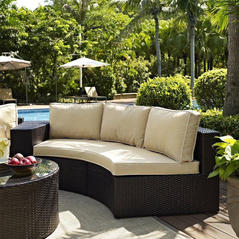 Featured Photo of Michal Patio Sofas With Cushions